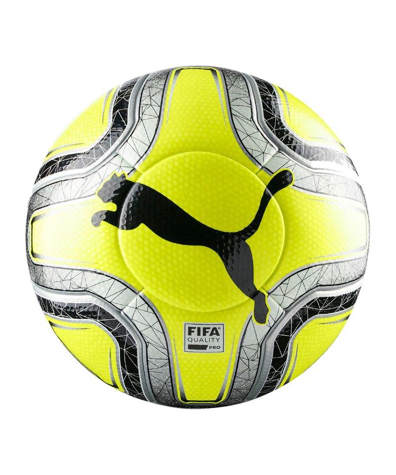 PUMA FINAL 1 Statement Spielball Gelb Silber F02 - gelb