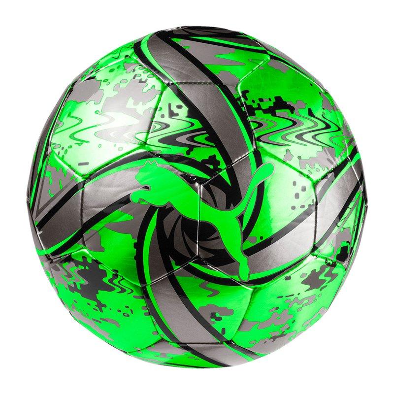 PUMA FUTURE Flare Trainingsball Grün Schwarz F22 - gruen
