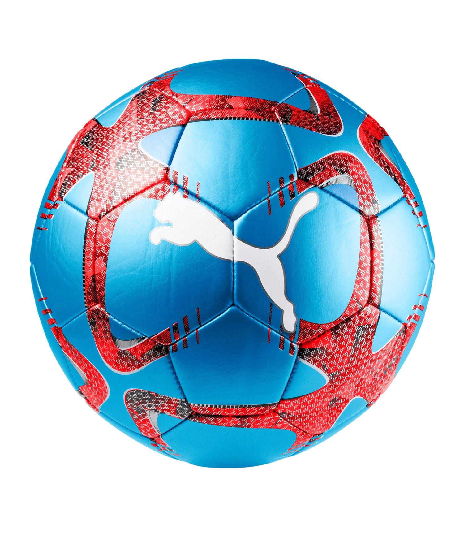 PUMA FUTURE Flash Trainingsball Blau Rot F02 - blau