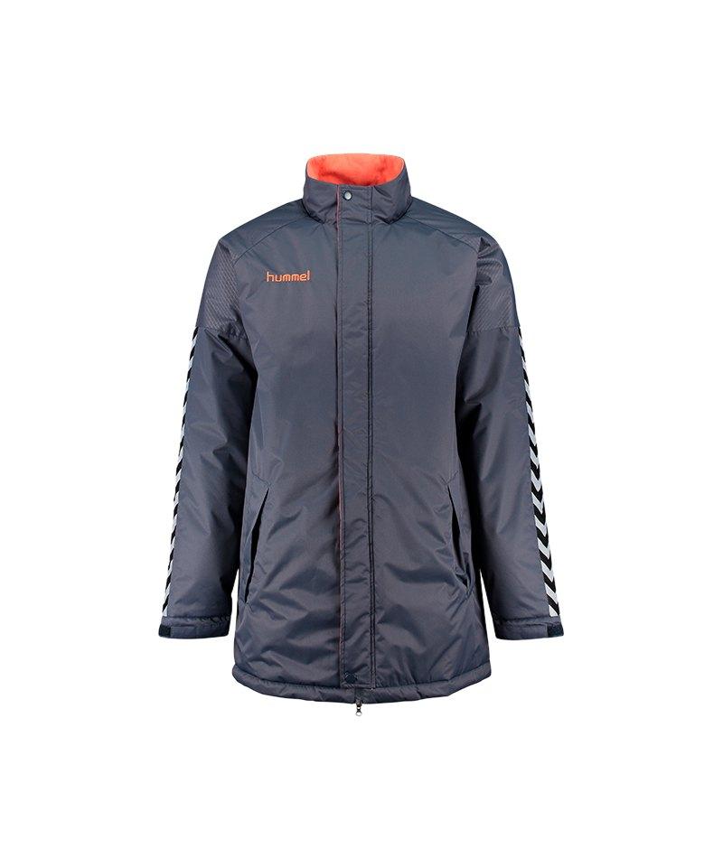 Hummel Authentic Charge Stadium Jacket Jacke F8730 - grau