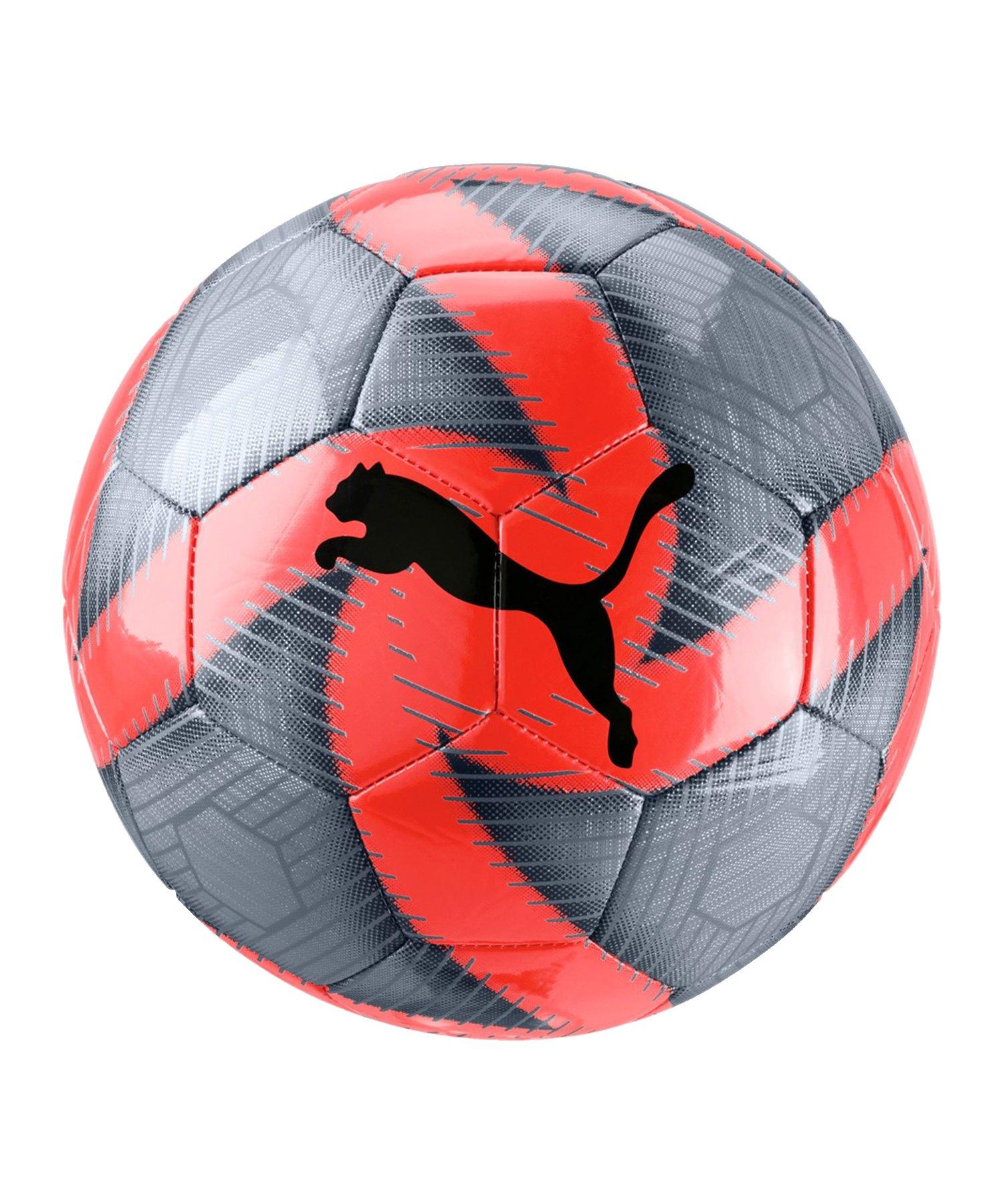 PUMA FUTURE Flare Trainingsball Grau Rot F01 - Grau