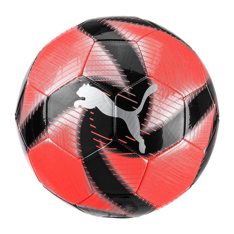 PUMA FUTURE Flare Trainingsball Rot Schwarz F02 - Grau
