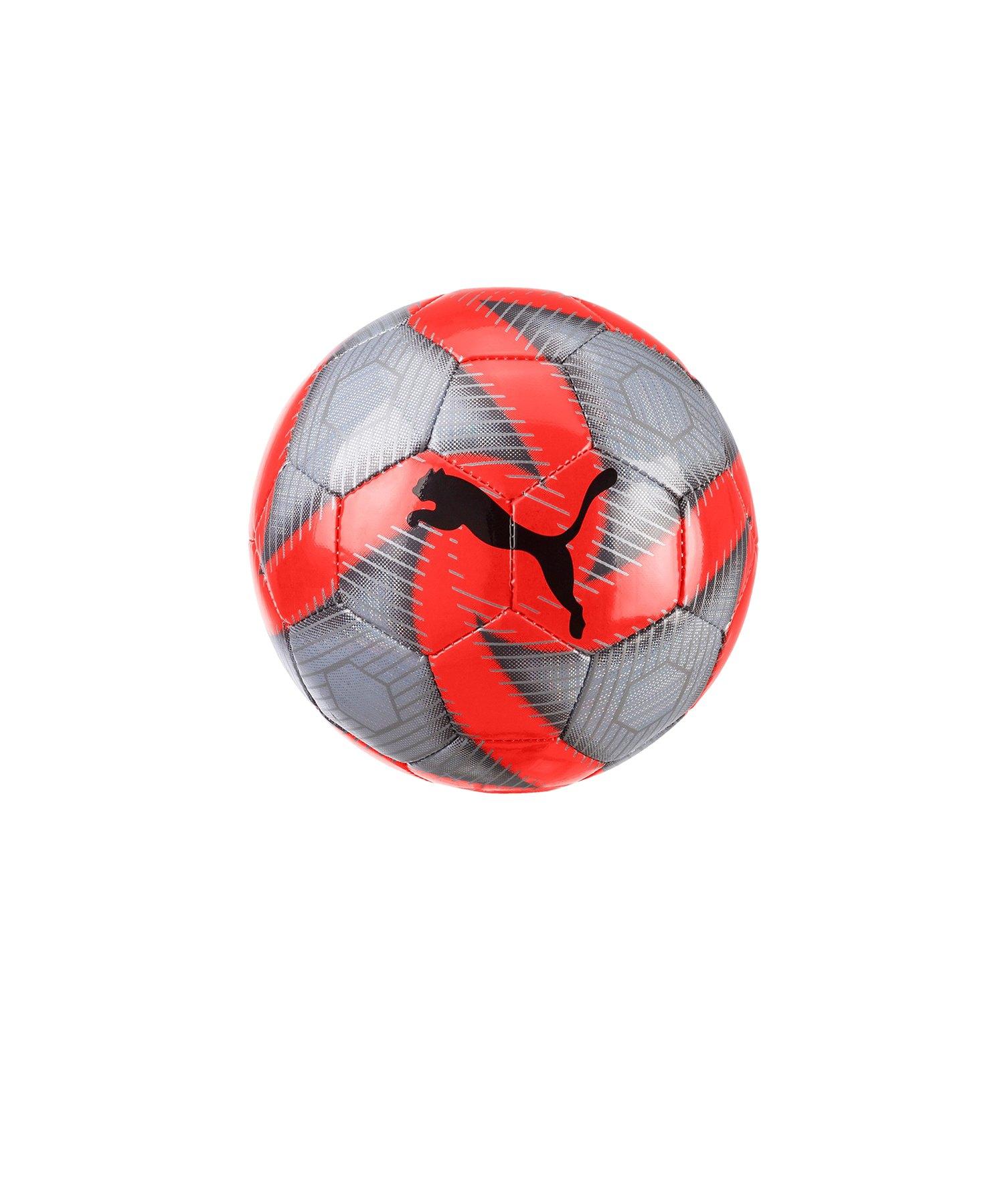 PUMA FUTURE Flare Miniball Grau Rot F01 - Grau