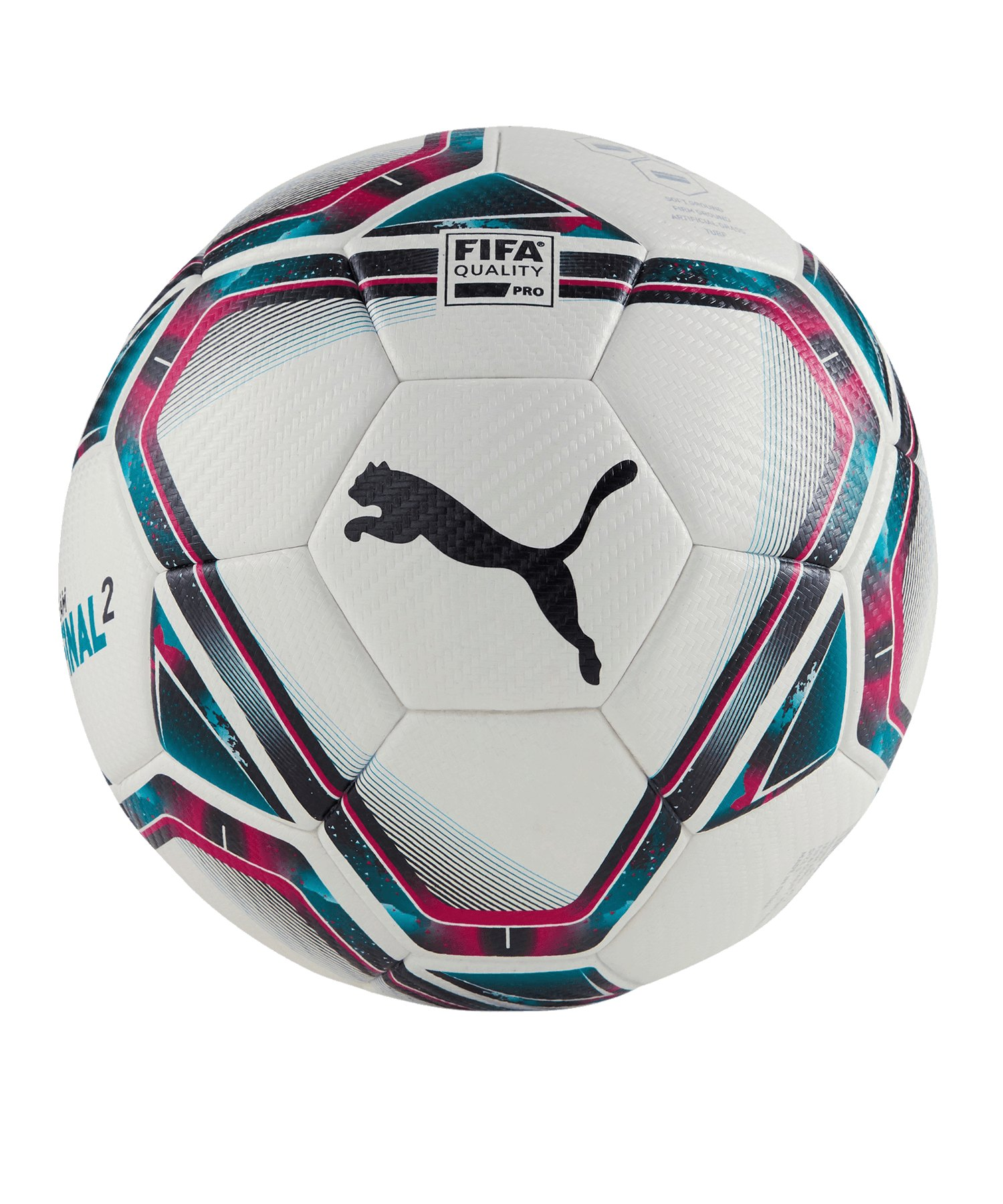 PUMA teamFINAL 21.2. FIFA Trainingsball Gr.5 F01 - weiss