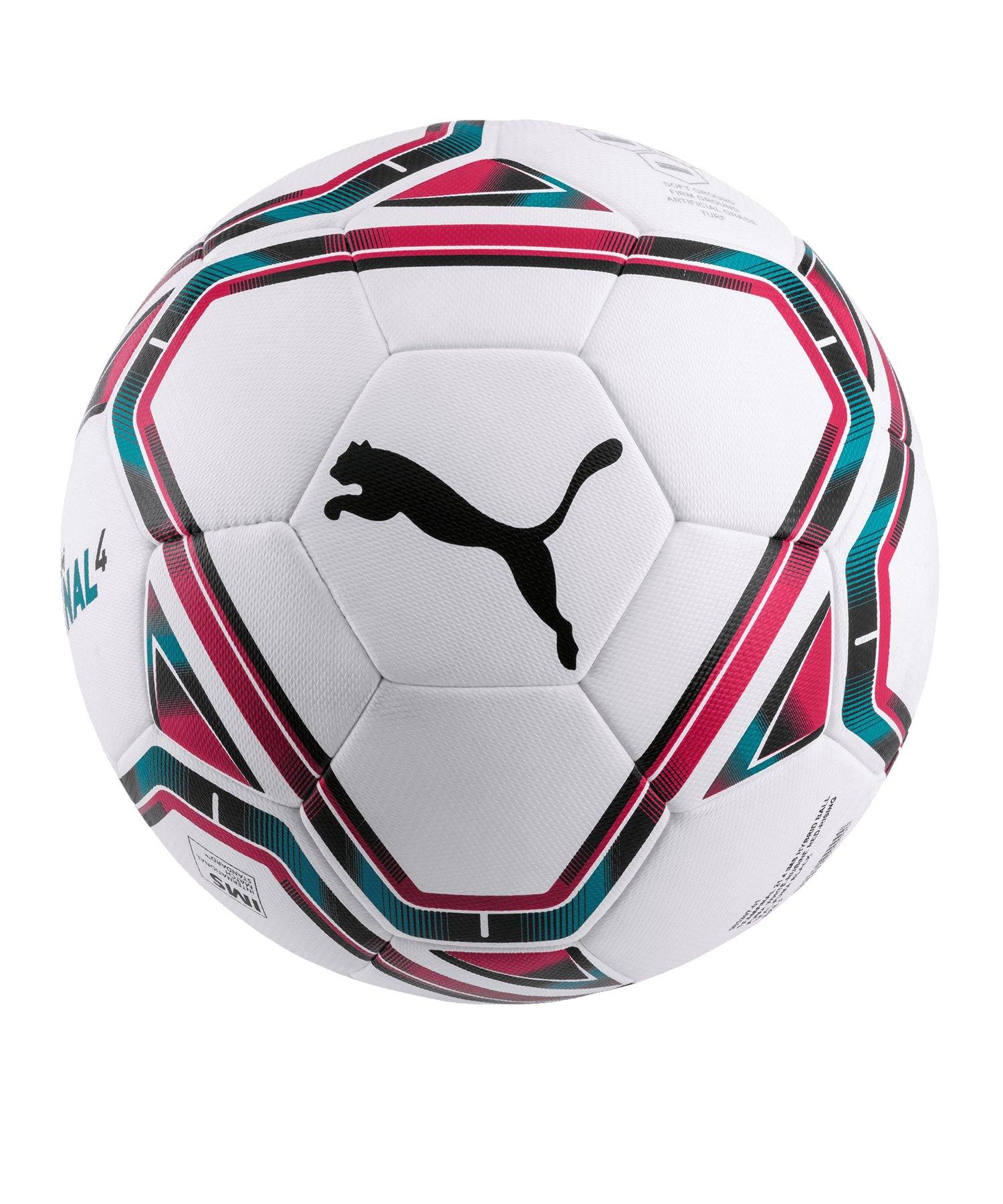 PUMA teamFINAL 21.4. IMS Hybrid Ball Gr. 5 F01 - weiss