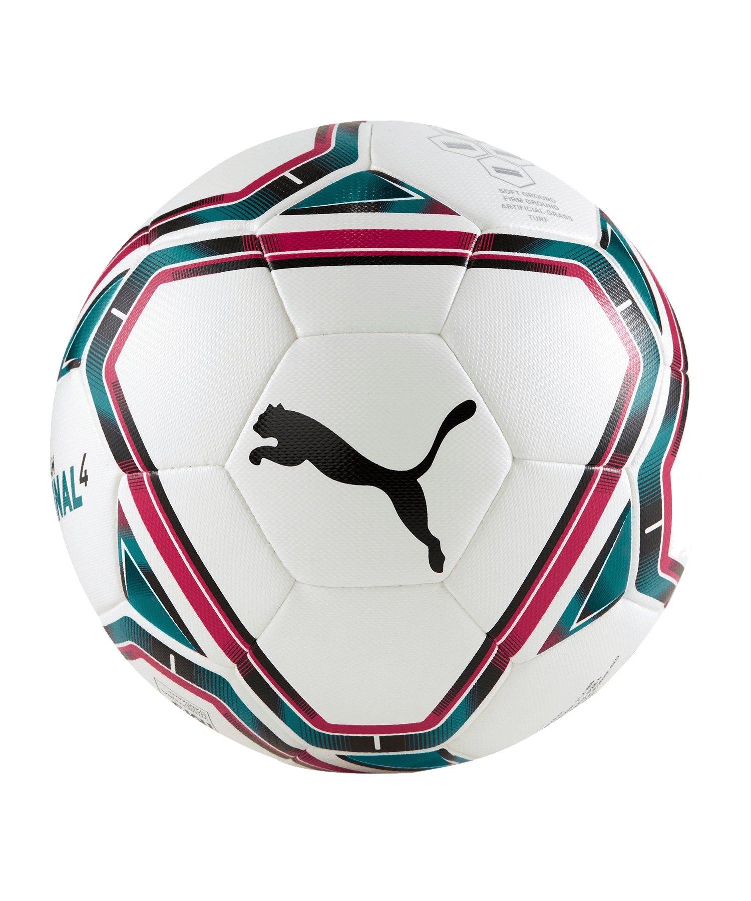 PUMA teamFINAL 21.4. IMS Hybrid Ball Gr. 4 F01 - weiss