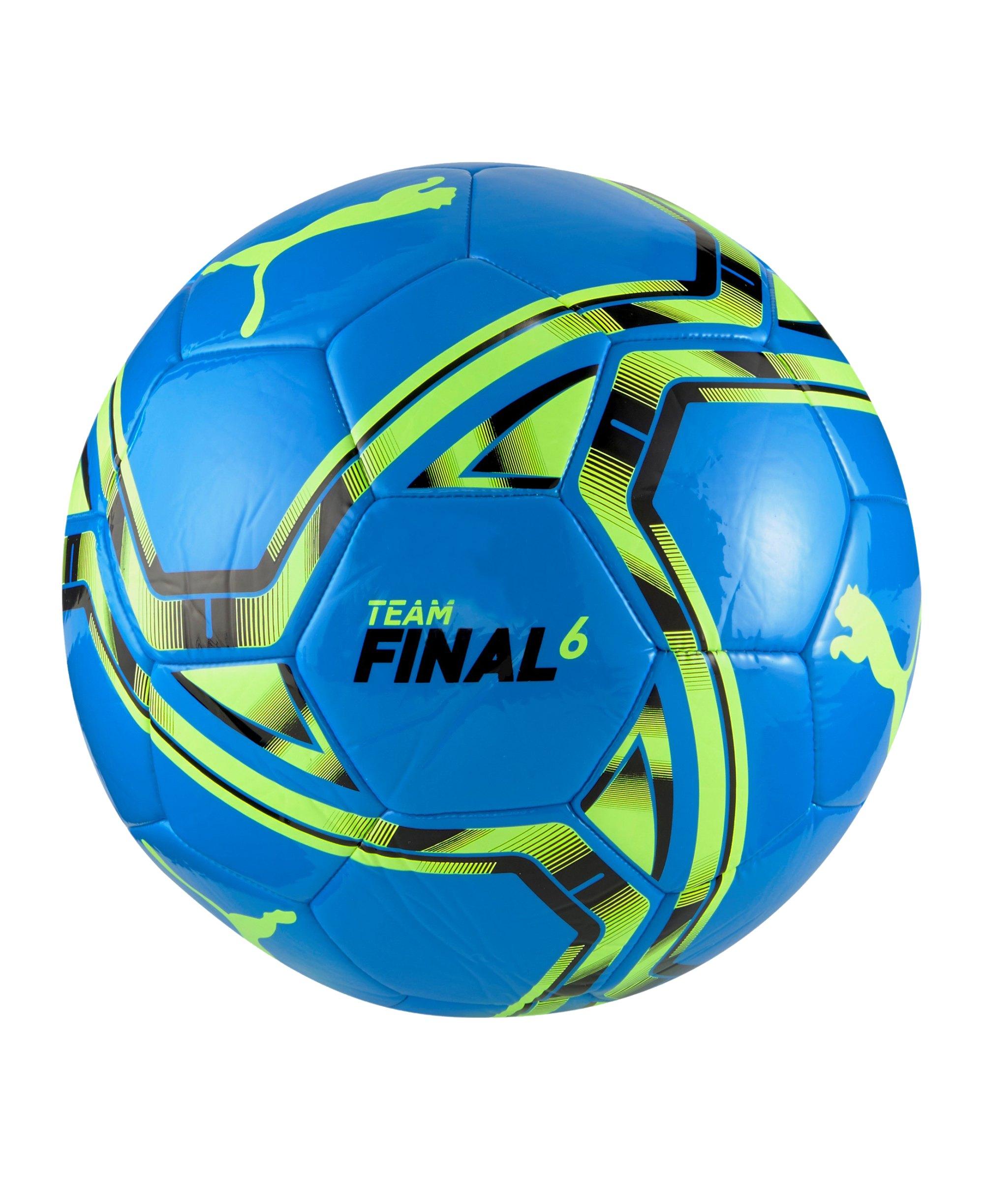 PUMA teamFINAL 21.6 Trainingsball Blau F10 - blau