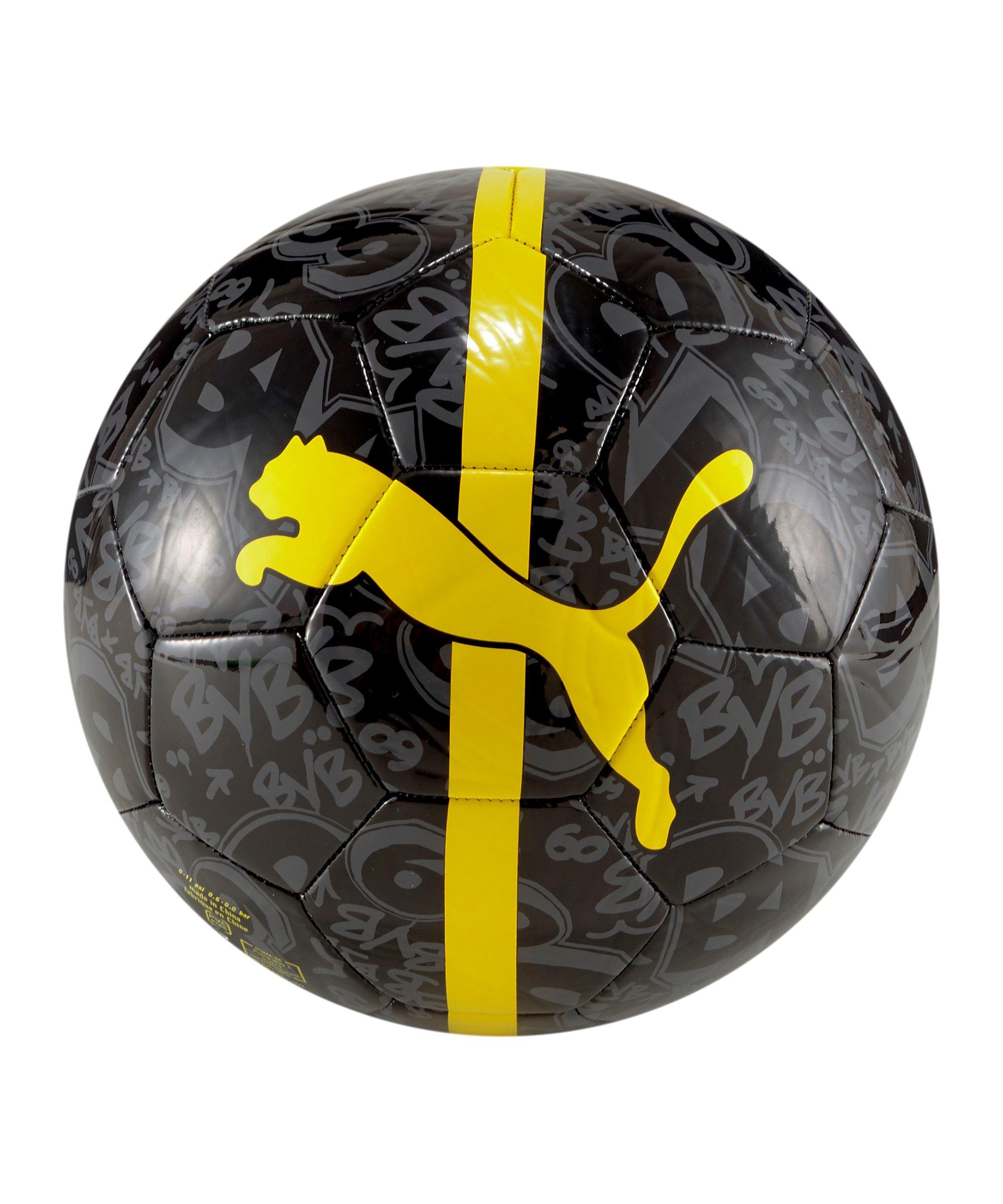 PUMA BVB Dortmund ftblCore Fanball Schwarz F002 - schwarz