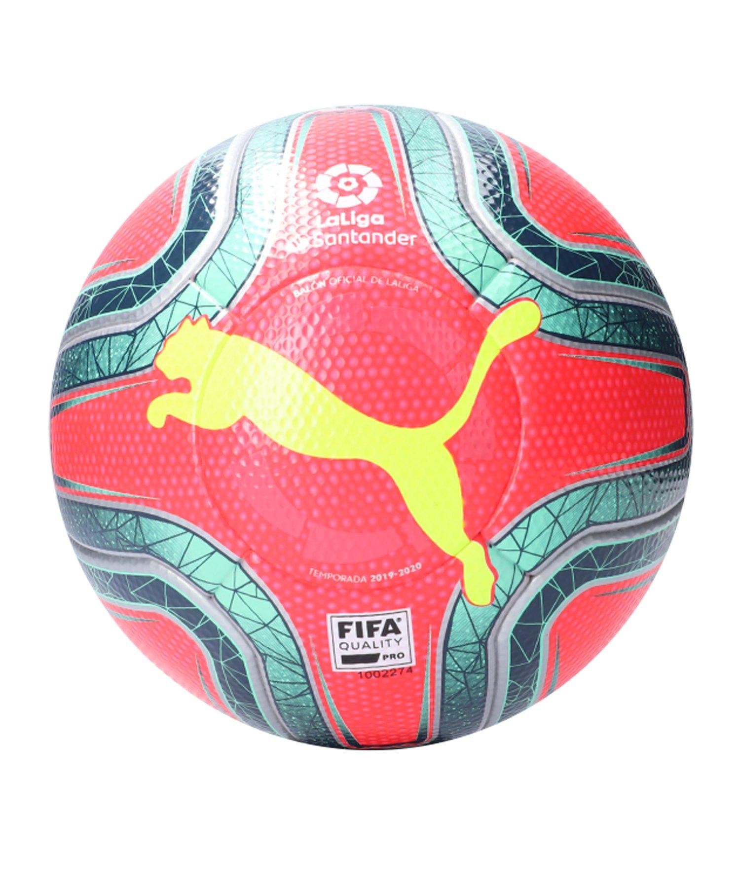 PUMA LaLiga FIFA Quality Pro Spielball Pink F02 - pink