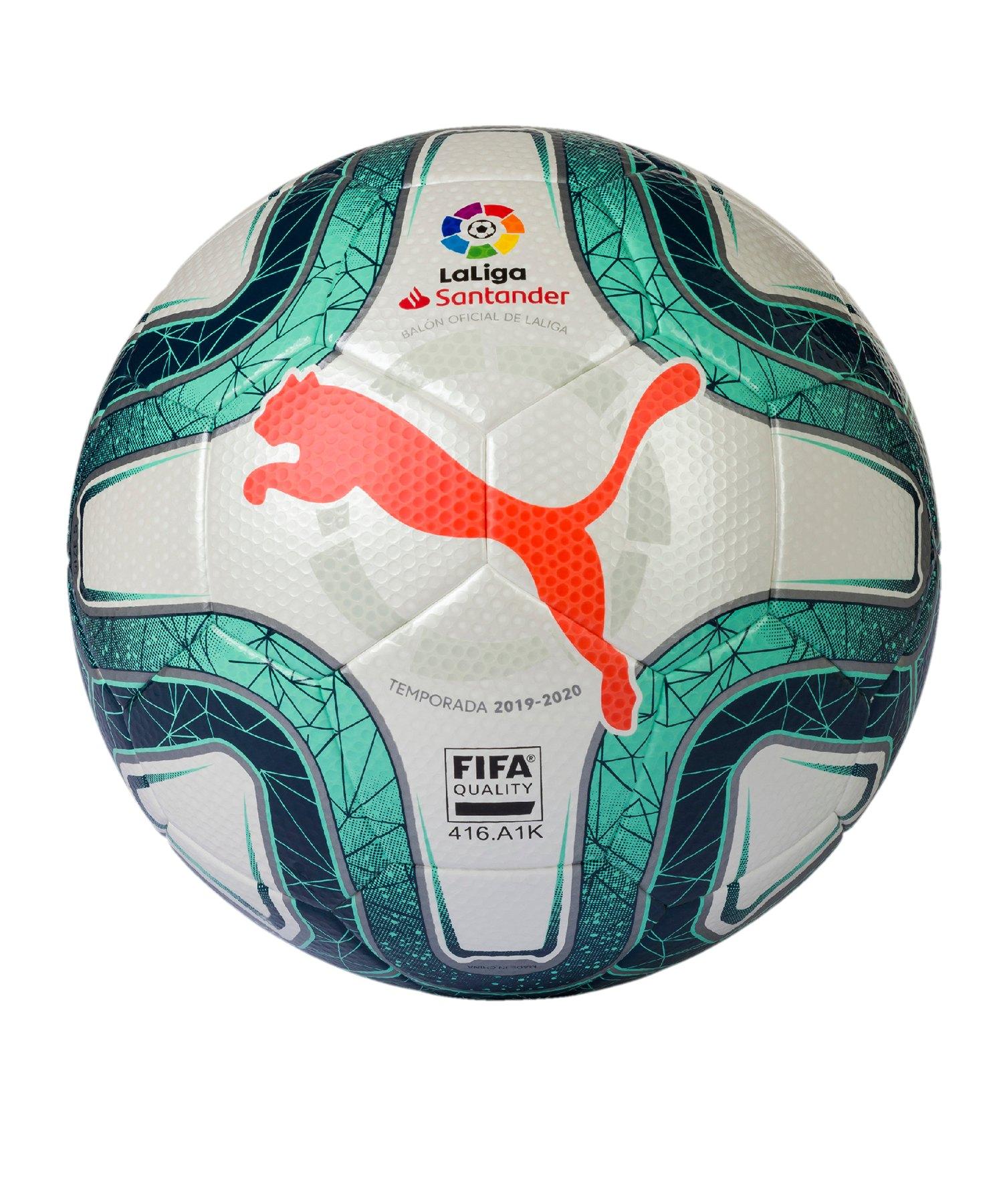 PUMA LaLiga FIFA Quality Trainingsball Gr.5 Weiss - weiss
