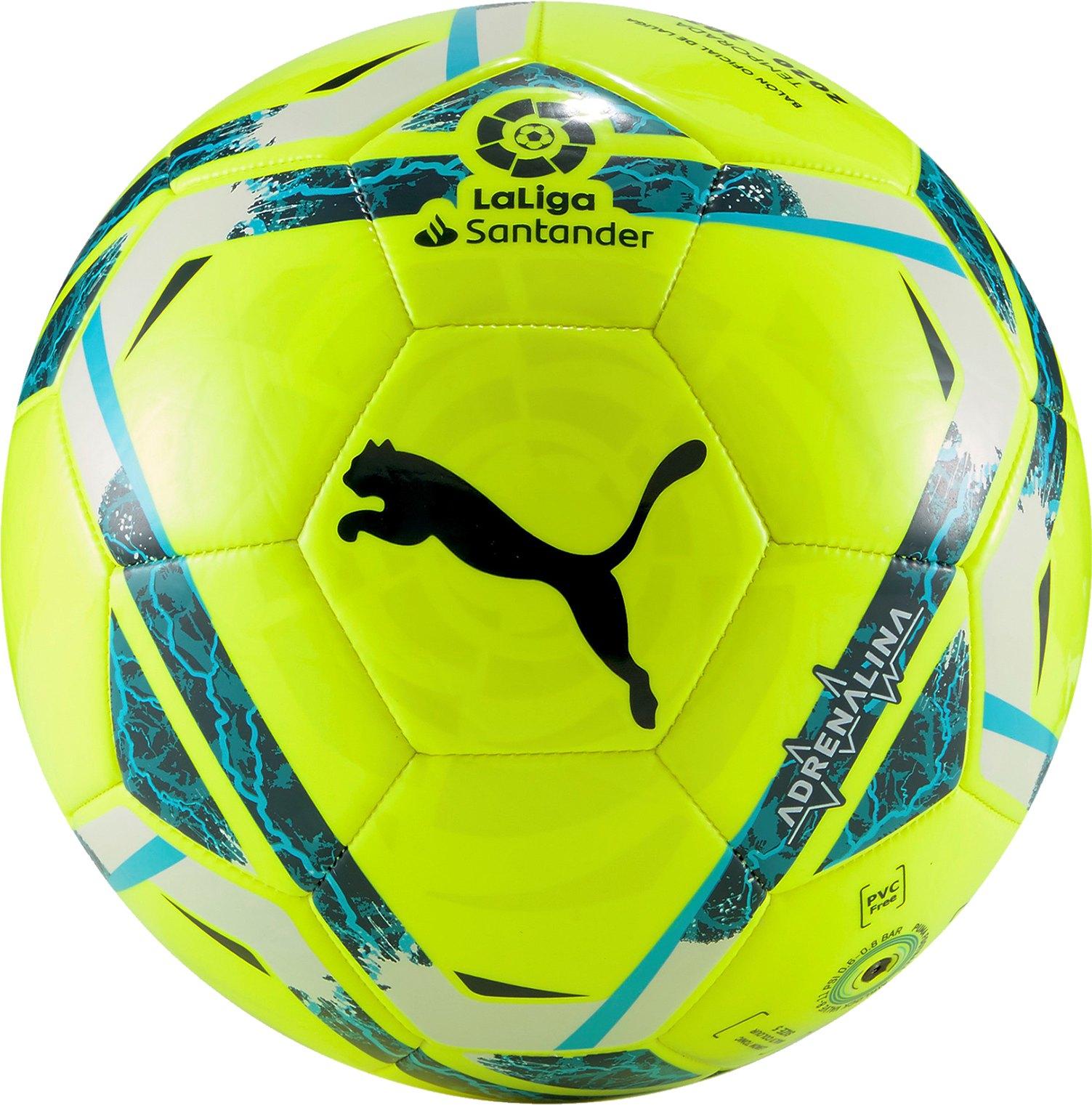 PUMA LaLiga 1 ADRENALINA MS Trainingsball Gelb F01 - gelb