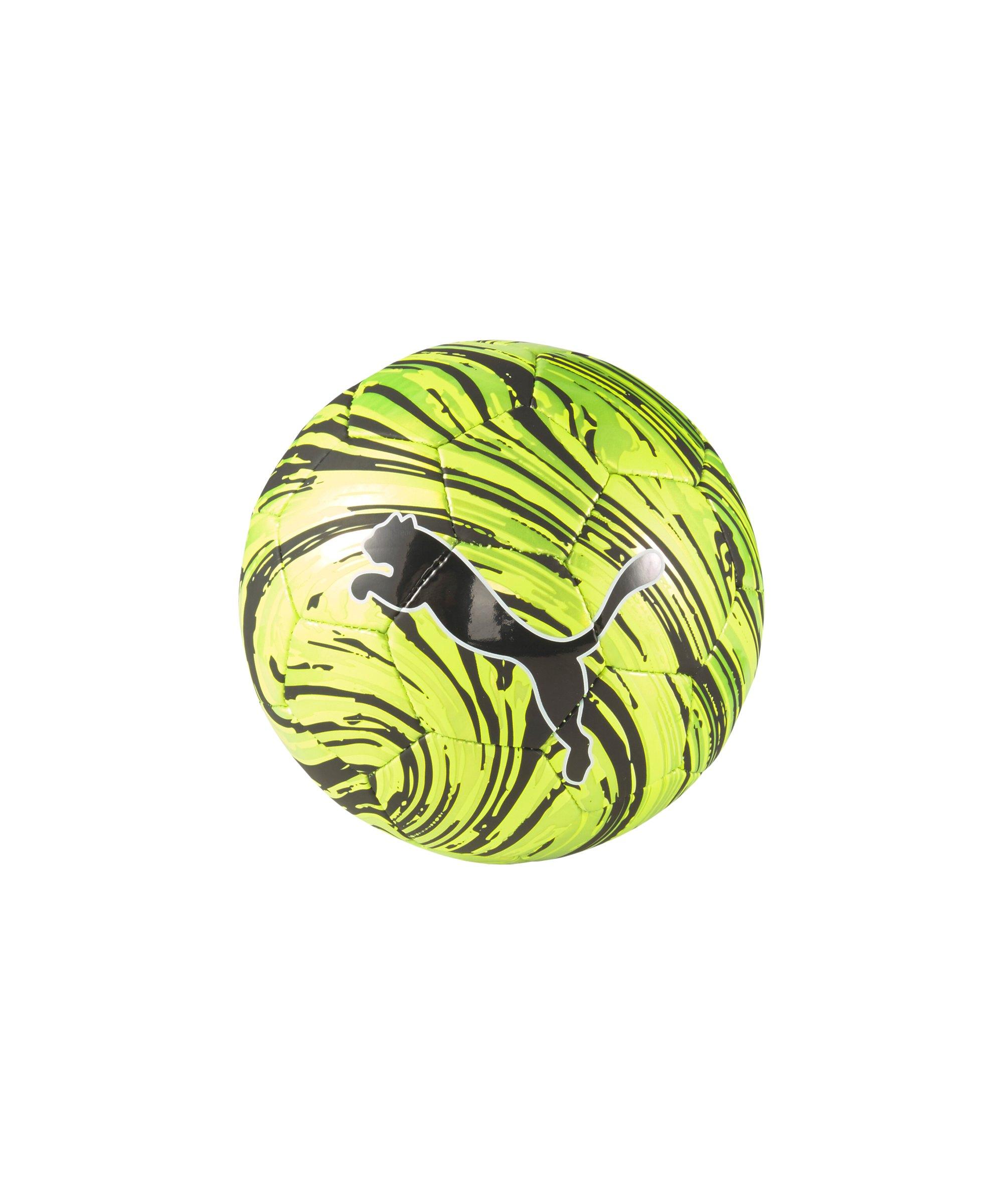 PUMA SHOCK Miniball Gelb Schwarz F02 - gelb