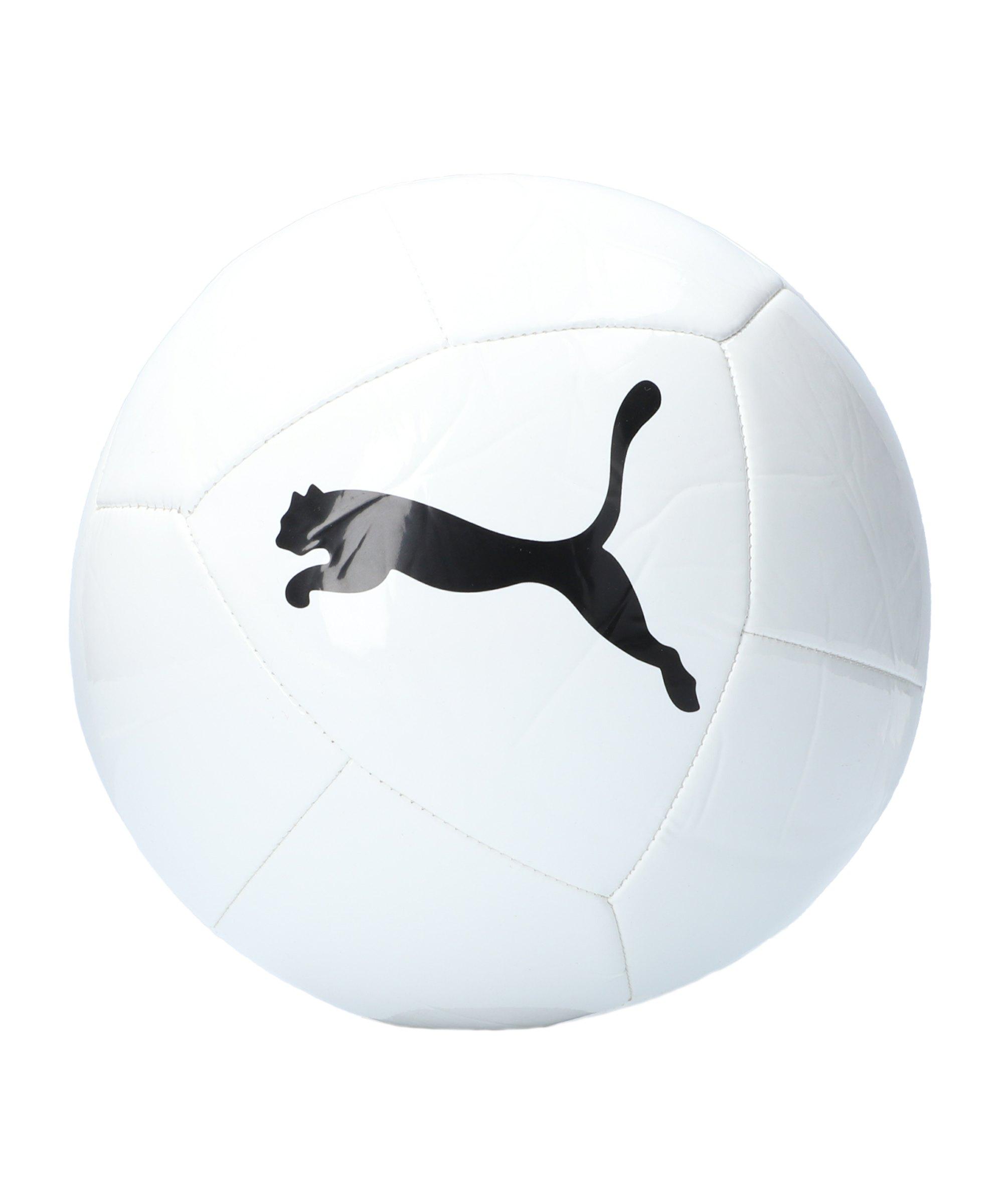 PUMA ICON Trainingsball Weiss Schwarz F01 - weiss