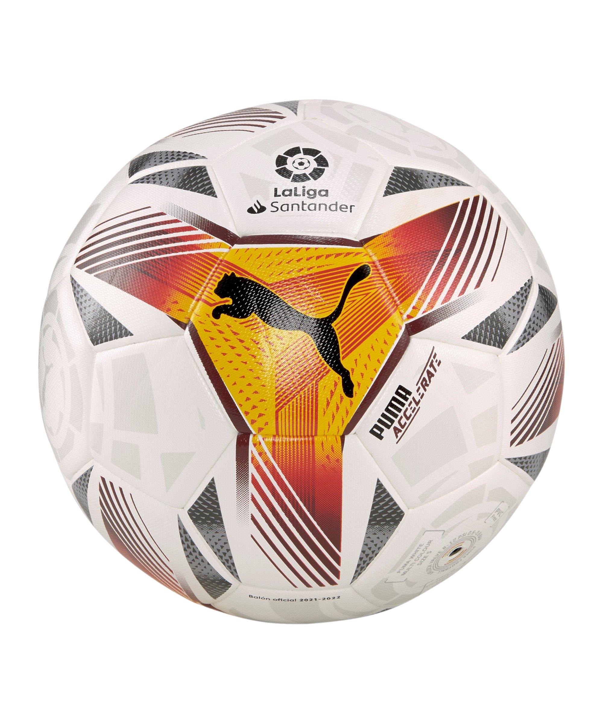 PUMA LaLiga 1 Accelerate Hybrid Trainingsball F01 - weiss