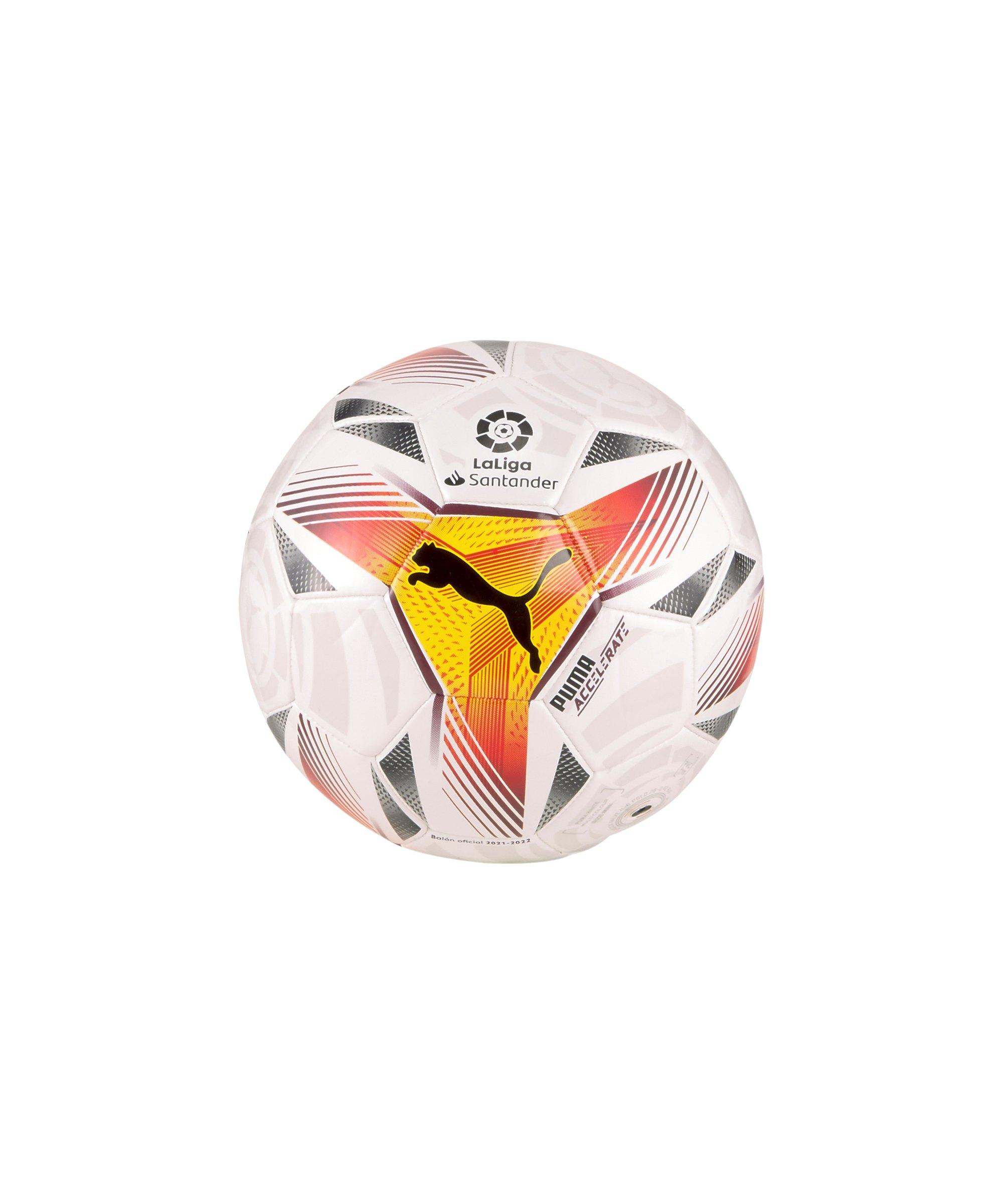 PUMA LaLiga 1 Accelerate Miniball Weiss F01 - weiss