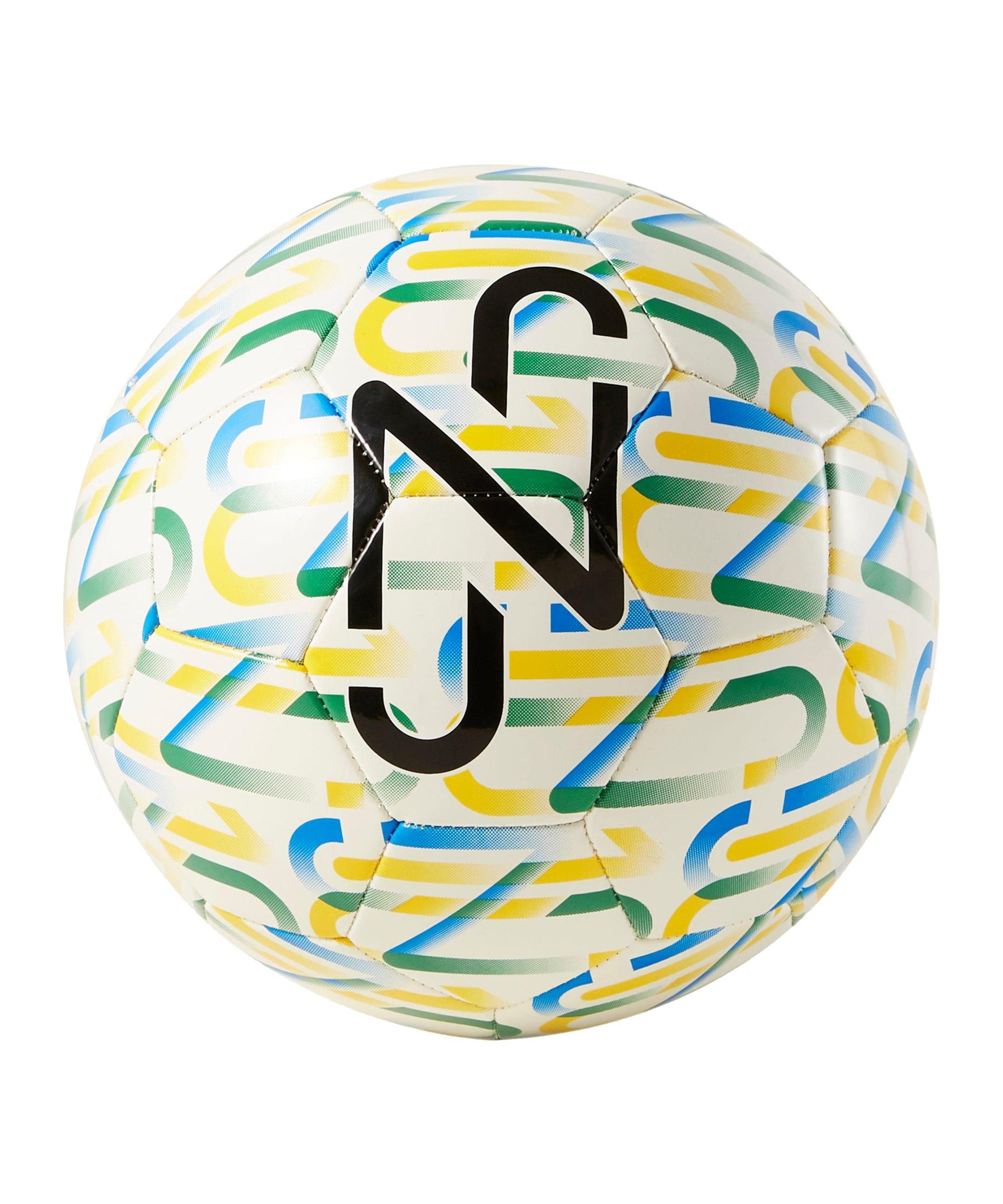 PUMA NJR Copa Graphic Fanball Weiss Gelb F02 - weiss