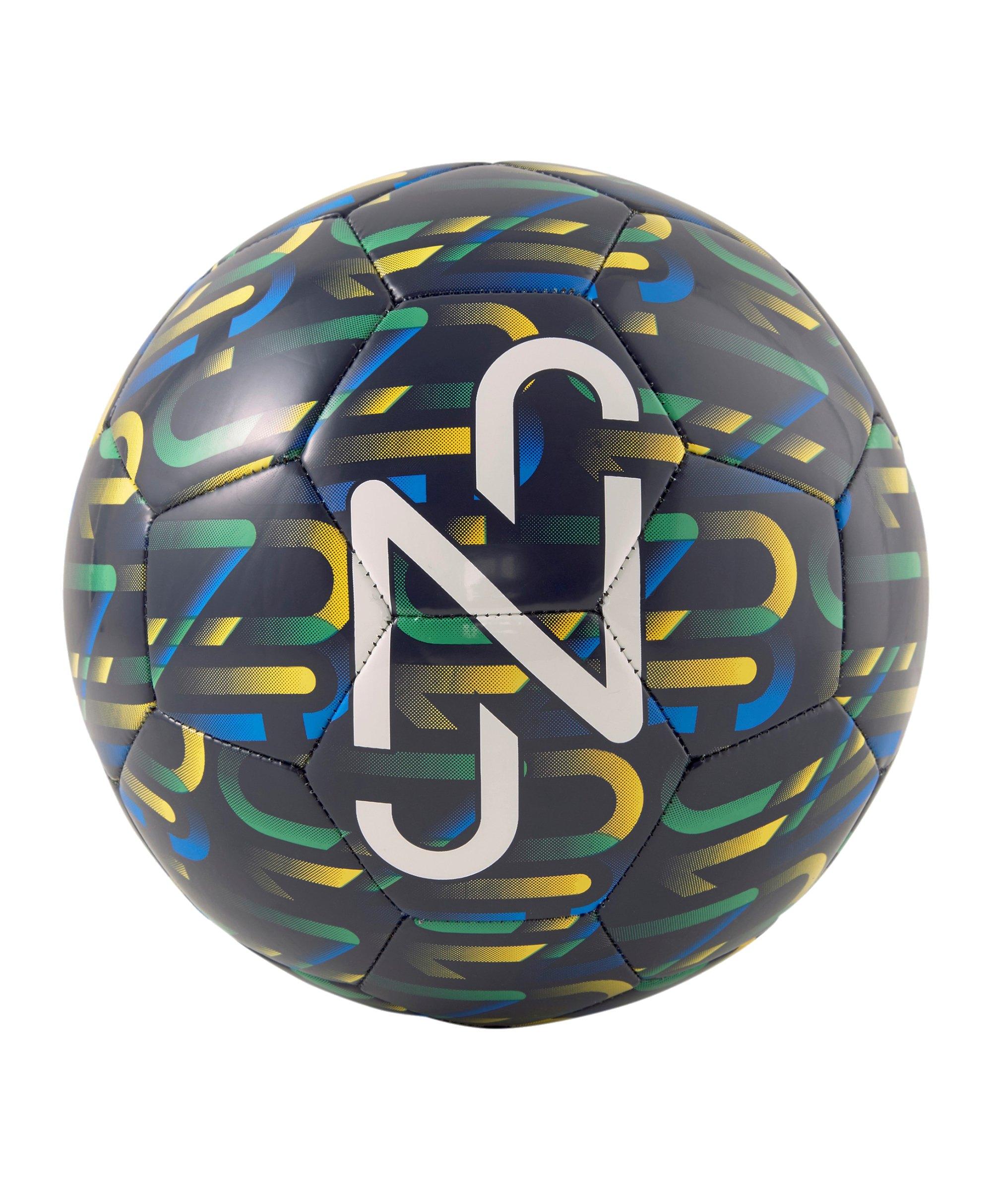 PUMA NJR Fan Graphic Ball Blau F01 - blau