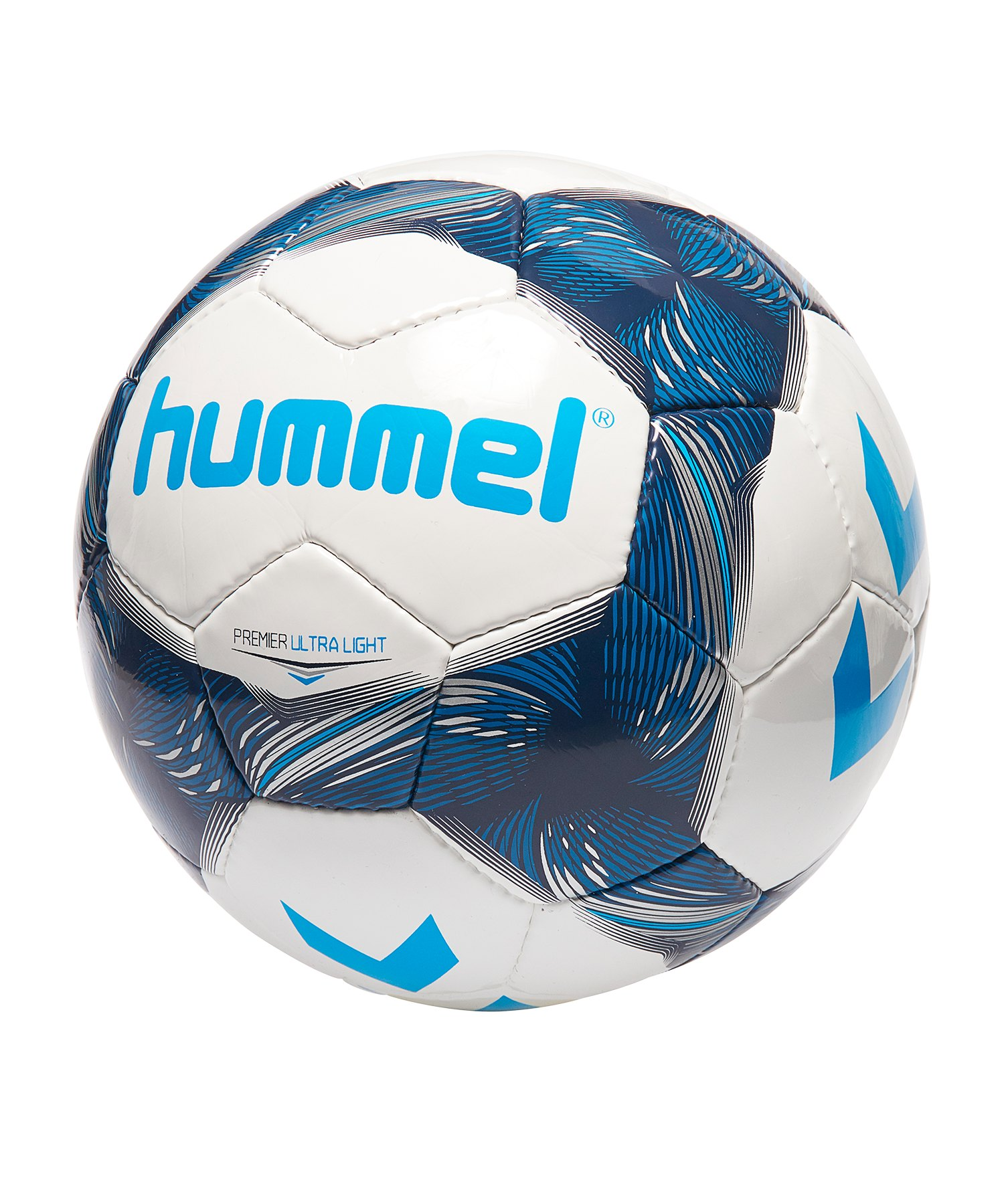 Hummel Premier Ultra Light Fussball Blau F9814 - Weiss