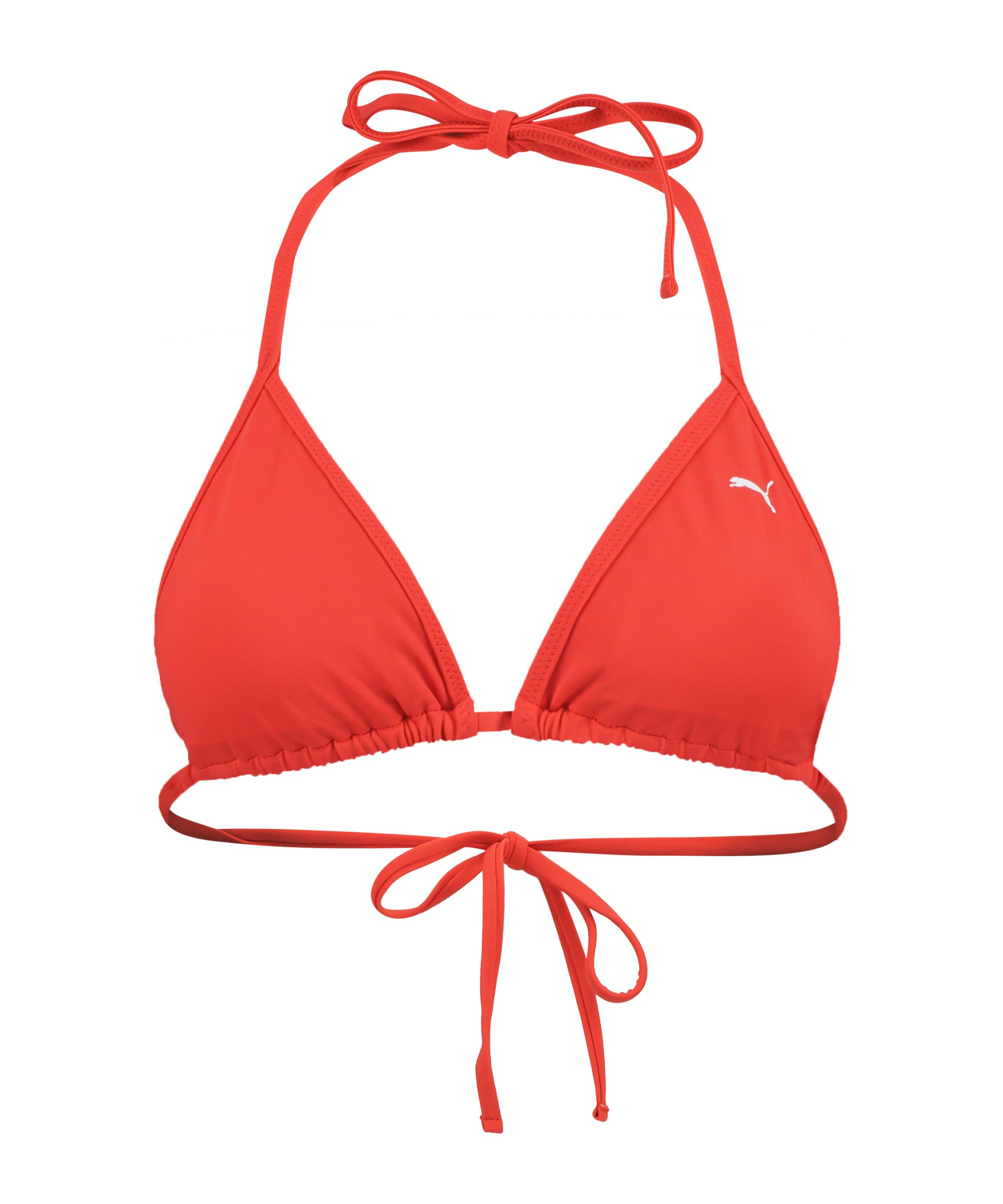 PUMA Triangel Bikini Top Damen Rot F002 - rot
