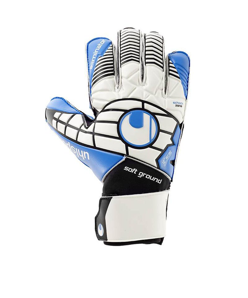 Uhlsport Eliminator Soft Pro Handschuh Weiss F01 - weiss