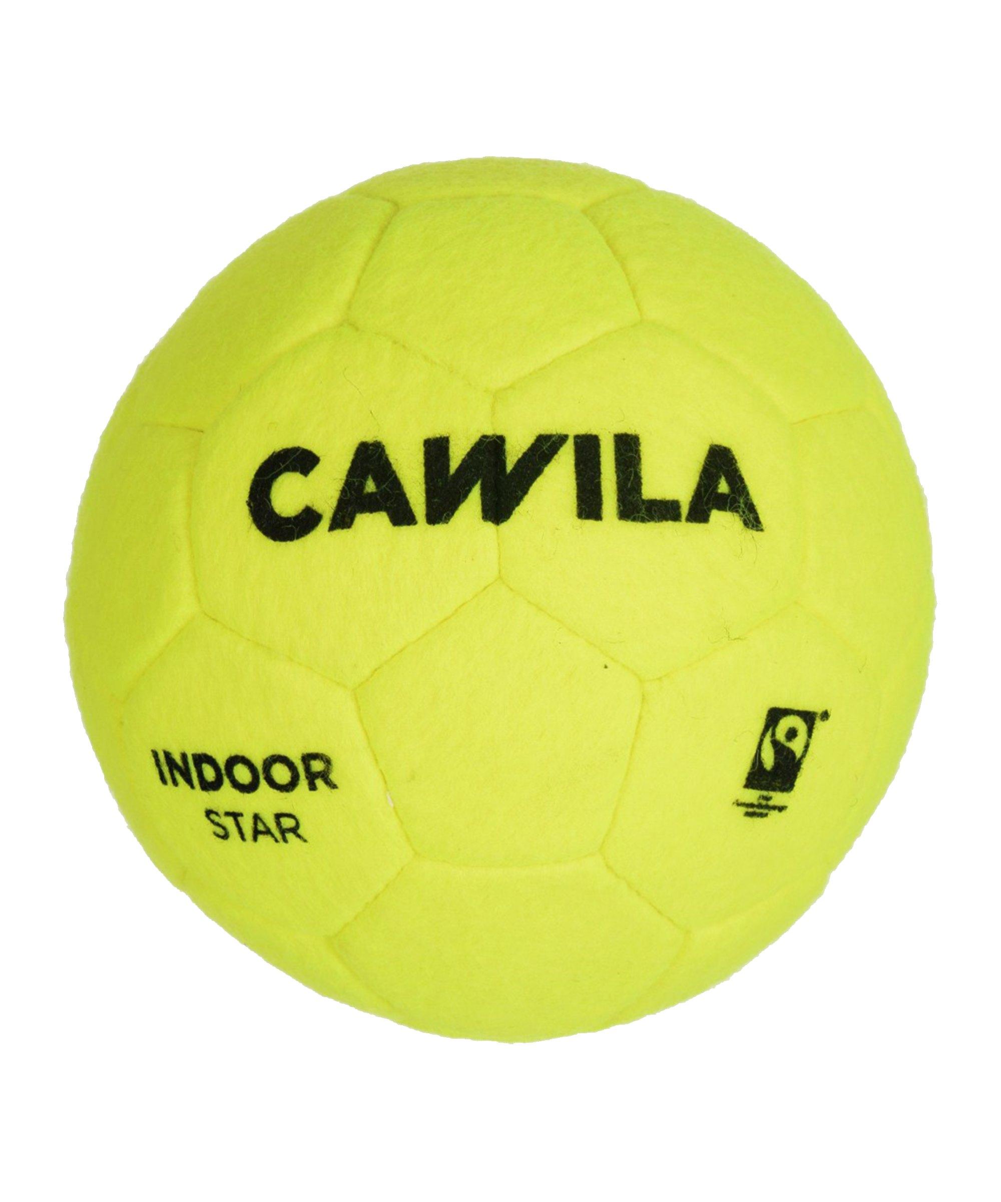 Cawila Fussball Indoor Star 5 Gelb - gelb
