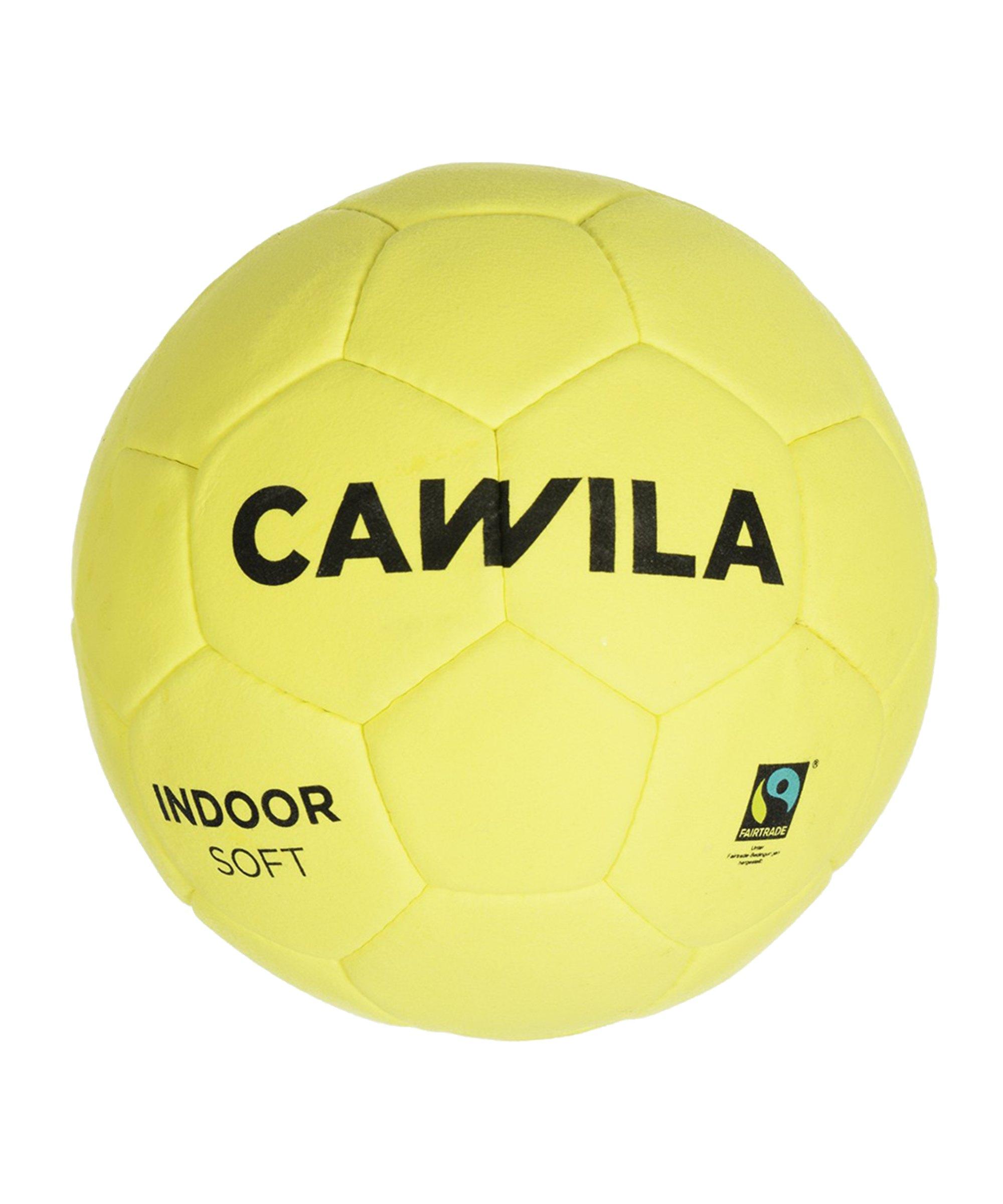 Cawila Fussball Indoor Soft 5 Gelb - gelb