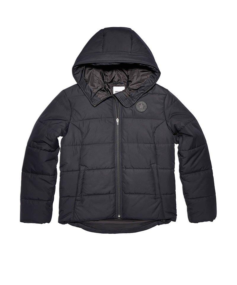 Converse Core Poly Fill Puffer Jacke Damen F001 - schwarz