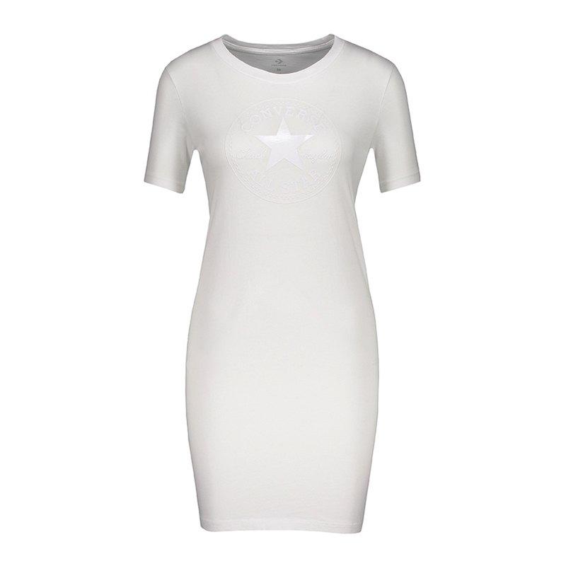 Converse Core CP Tee Dress Damen Weiss FA02 - weiss