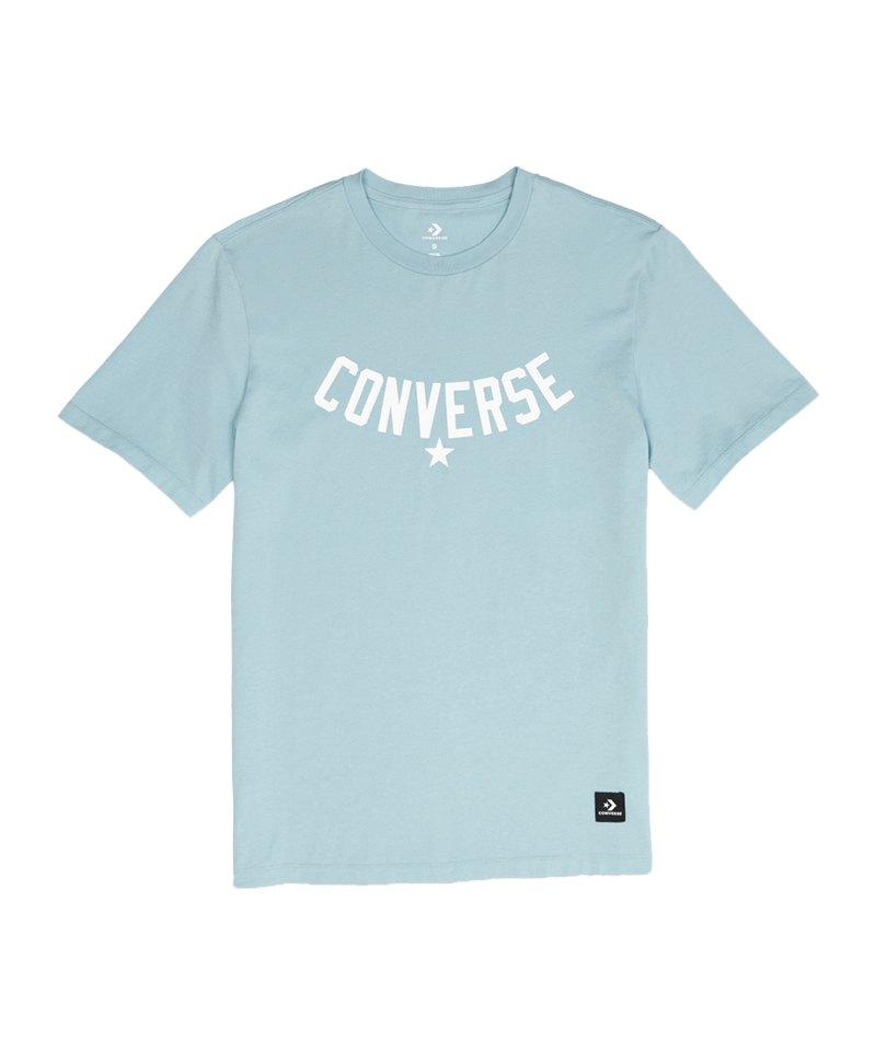 Converse Essentials Supima Graphic T-Shirt FA03 - blau