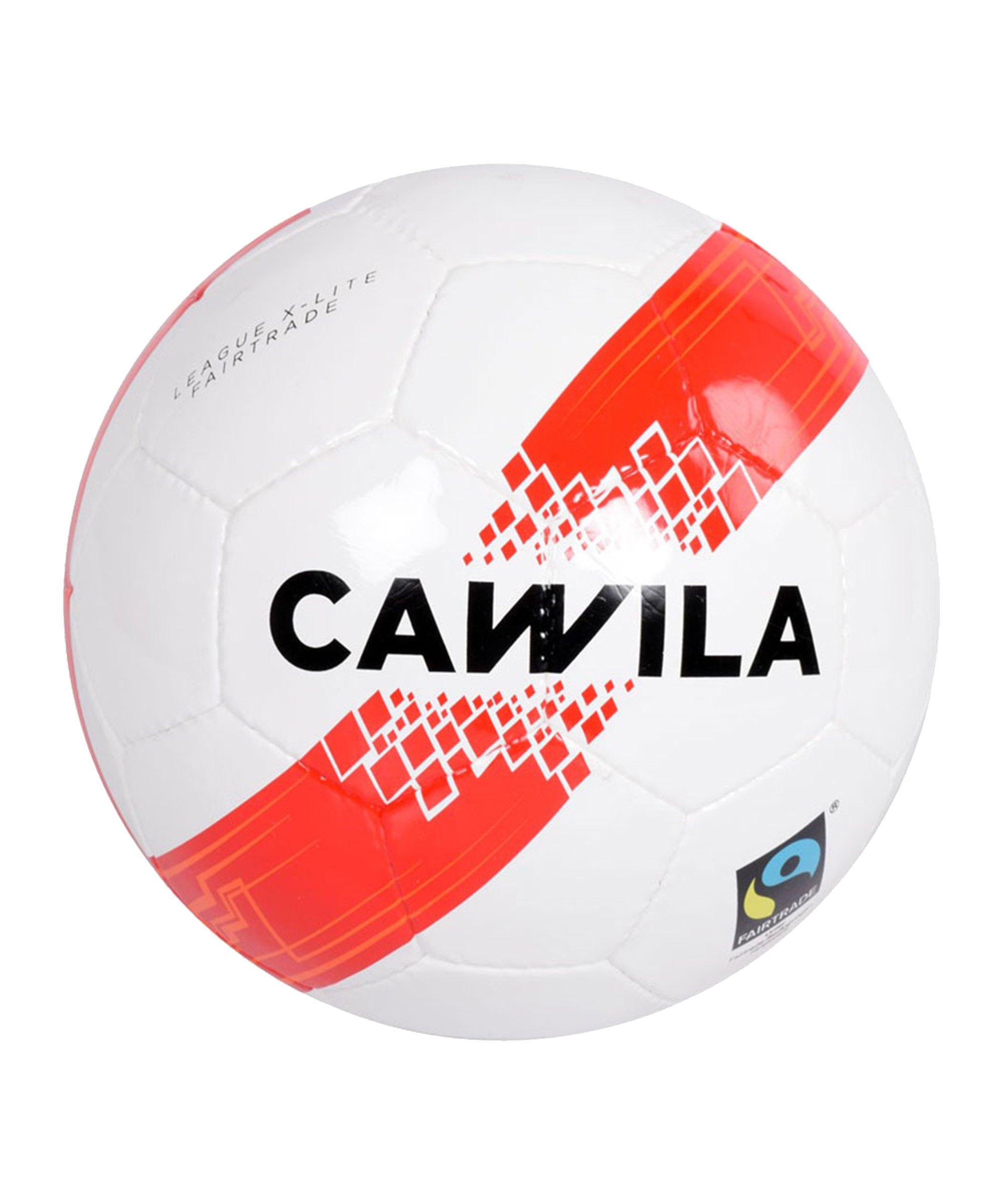 Cawila Fussball ARENA X-LITE 290 Fairtrade 5 Weiss - weiss