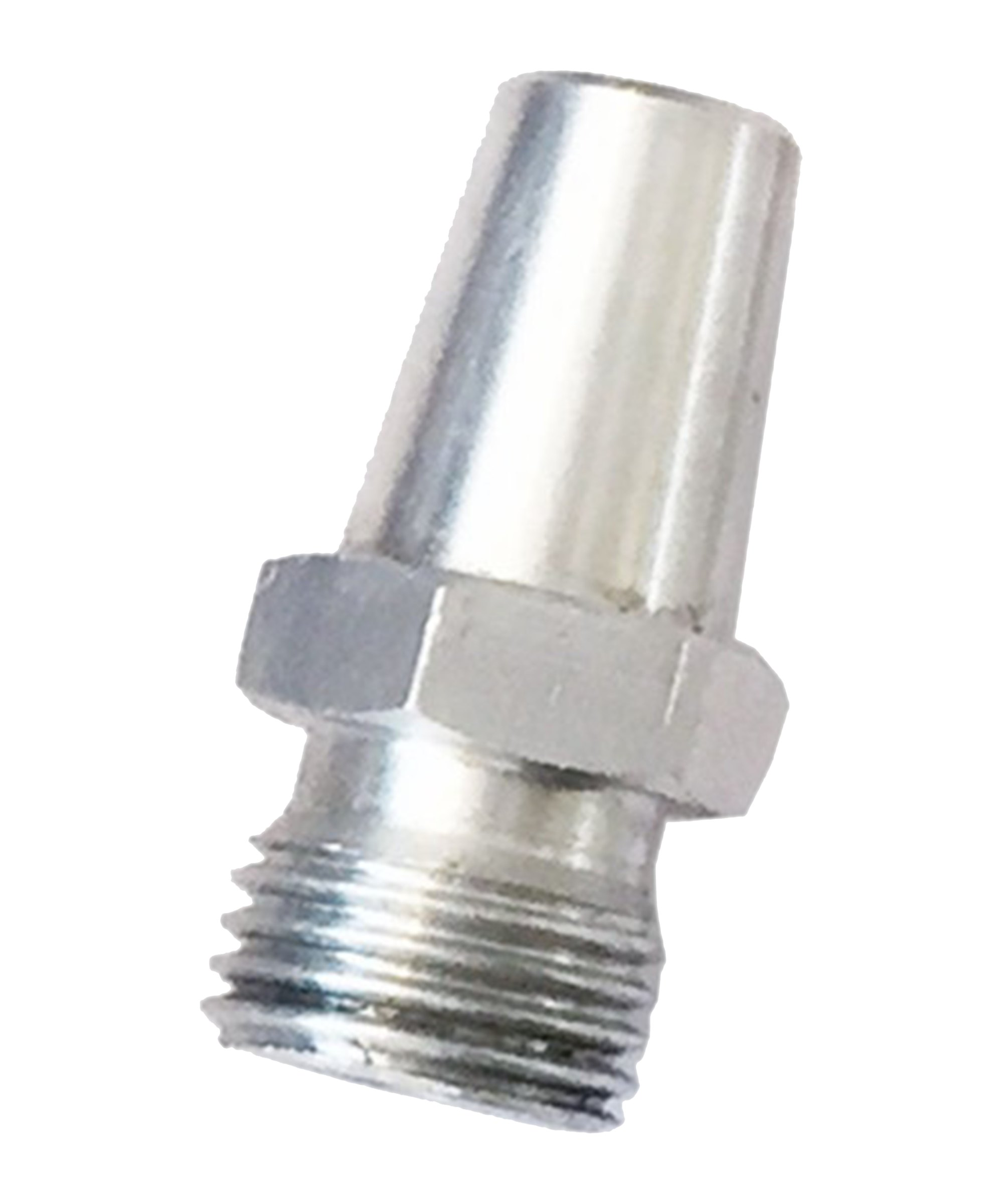 Cawila Hohlnadel-Adapter Aluminium - weiss
