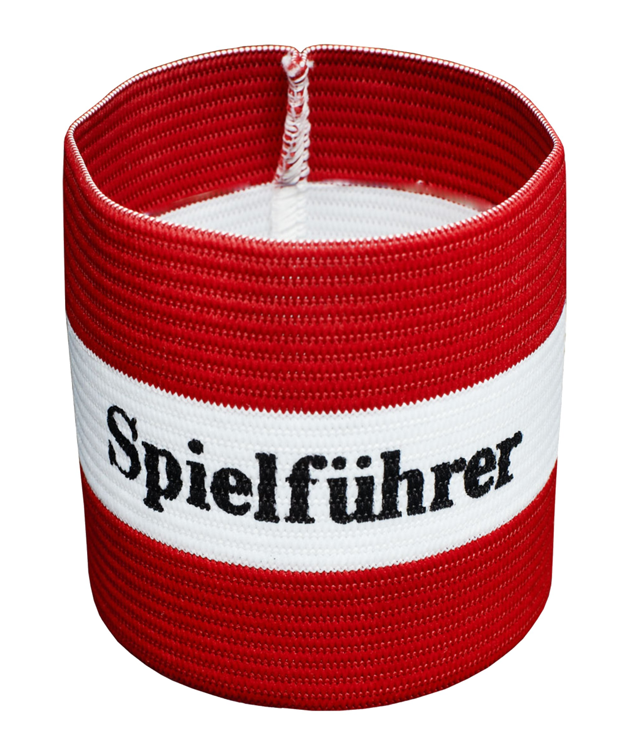 Cawila Spielführer Armbinde Junior Rot - rot