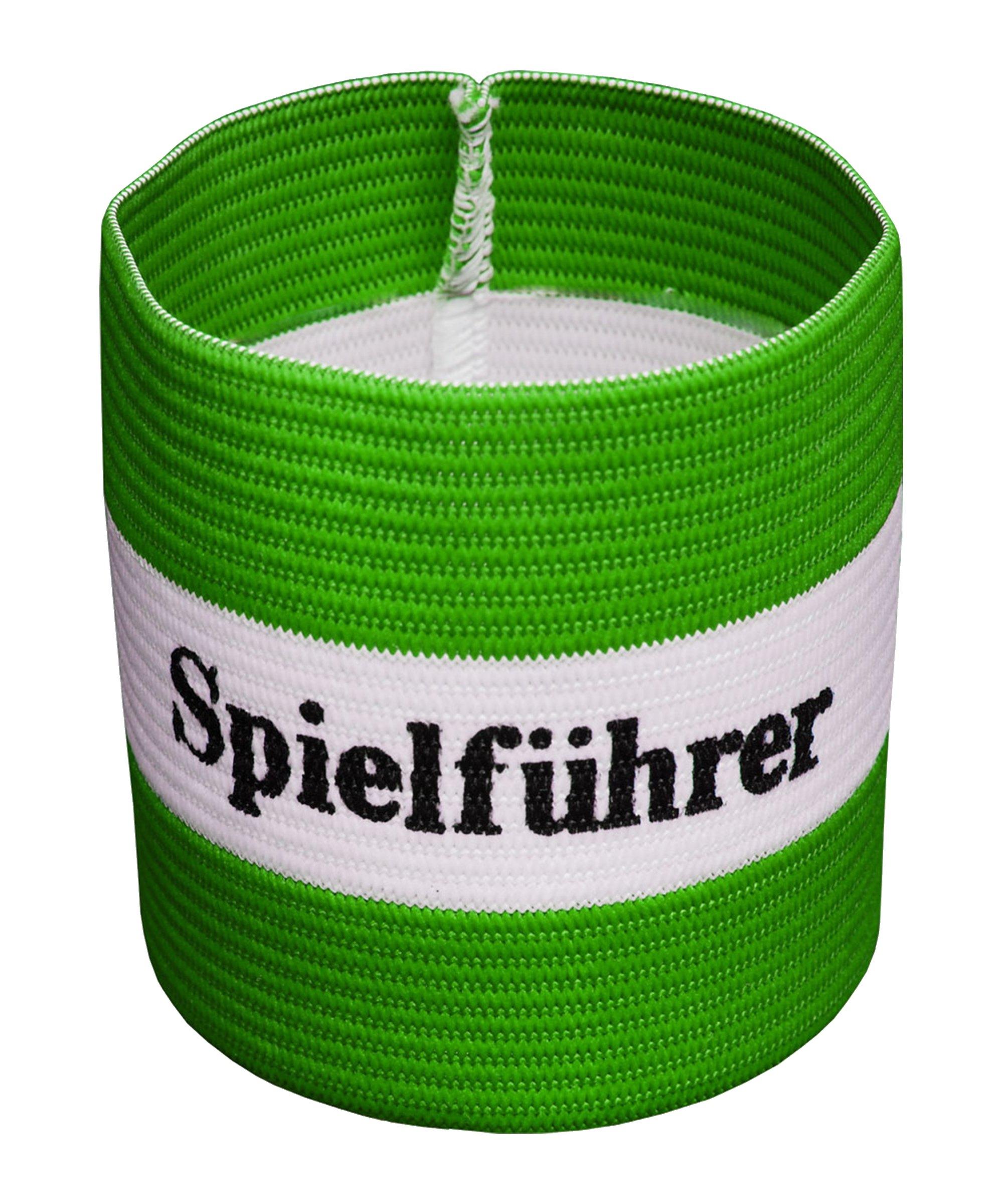 Cawila Spielführer Armbinde Junior Grün - gruen