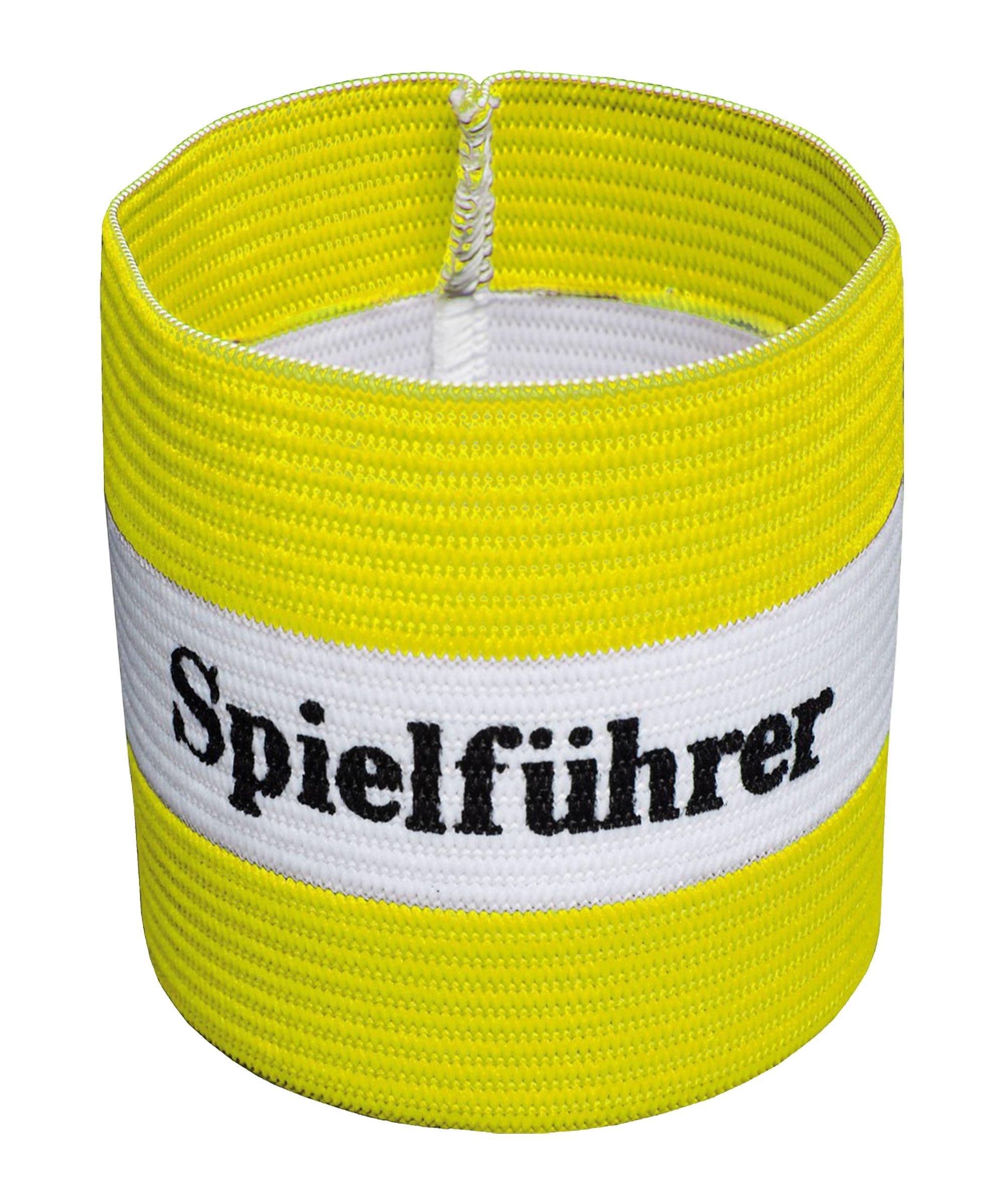 Cawila Spielführer Armbinde Senior Gelb - gelb