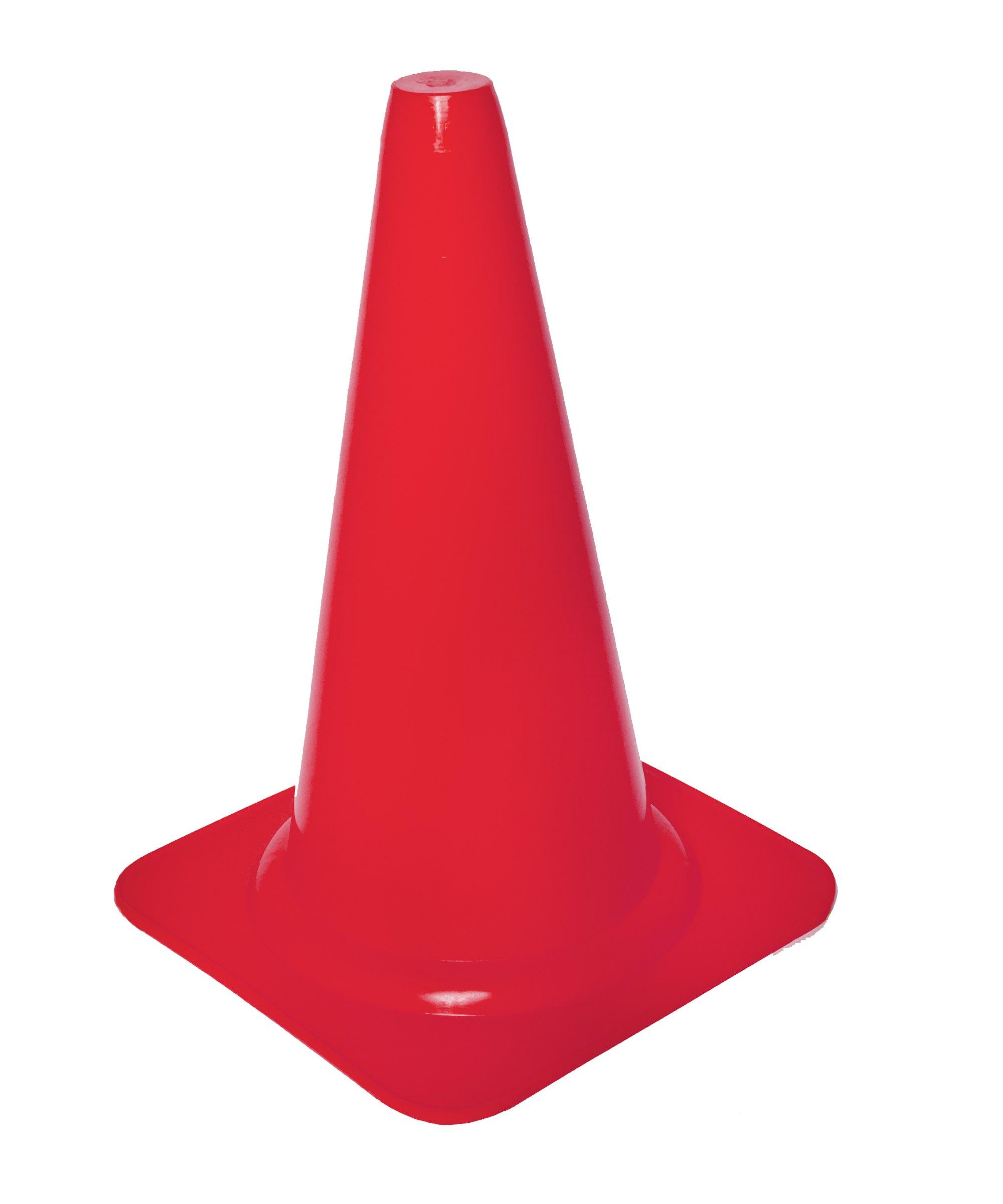 Cawila Markierungskegel S 23cm Rot - rot