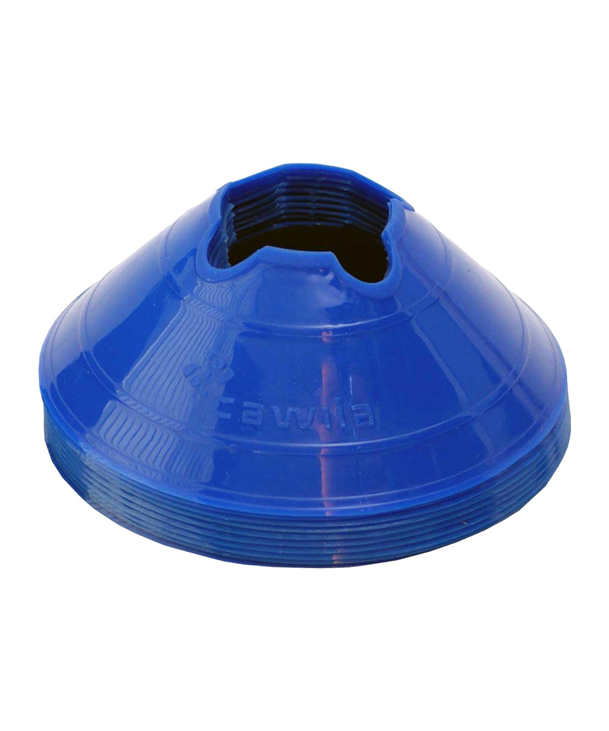 Cawila Mark.Scheiben M 10Stk d20cm 6cm Blau - blau