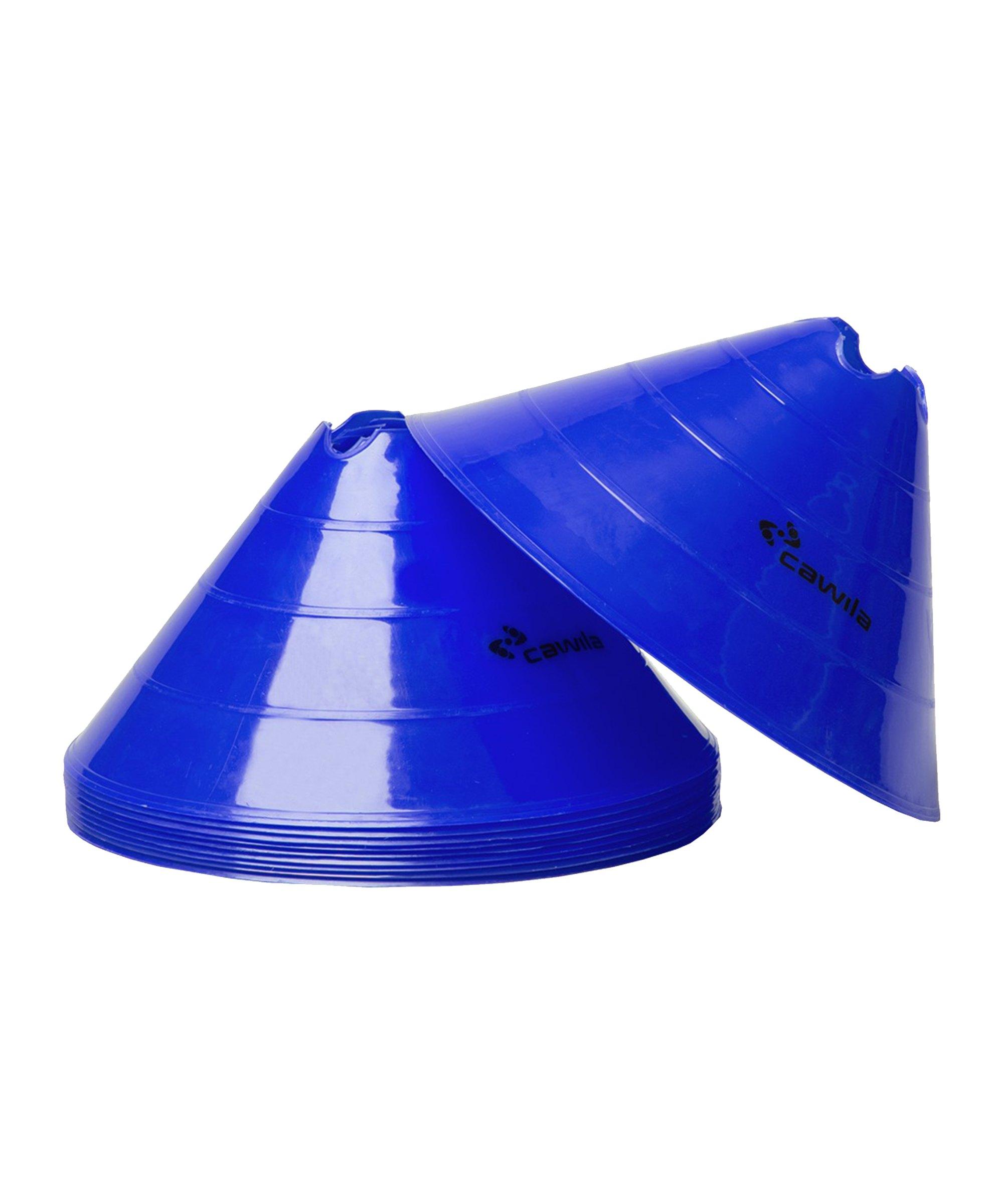 Cawila Markier.Scheiben L 10er d30cm 15cm Blau - blau