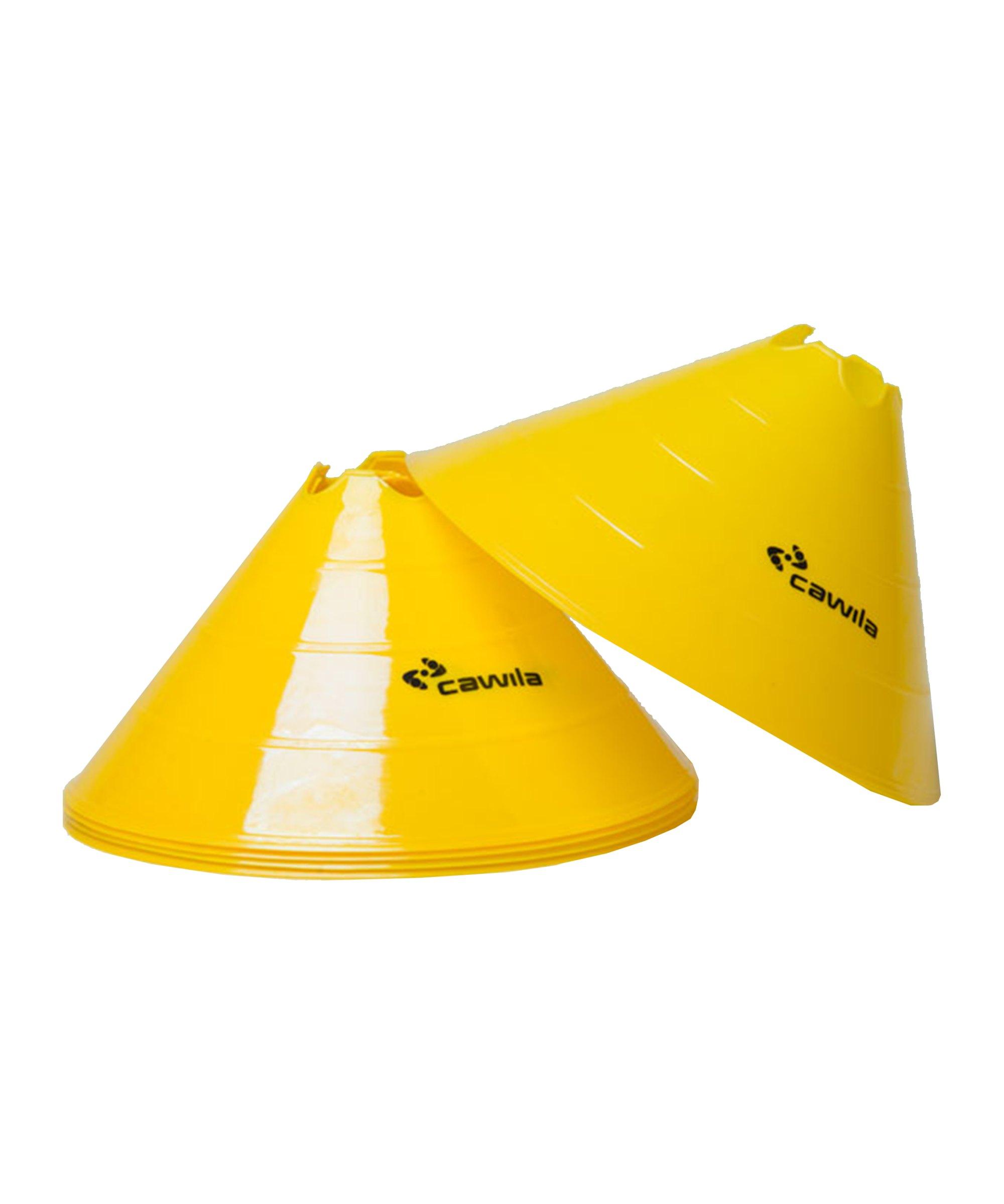 Cawila Markier.Scheiben L 10er d30cm 15cm Gelb - gelb