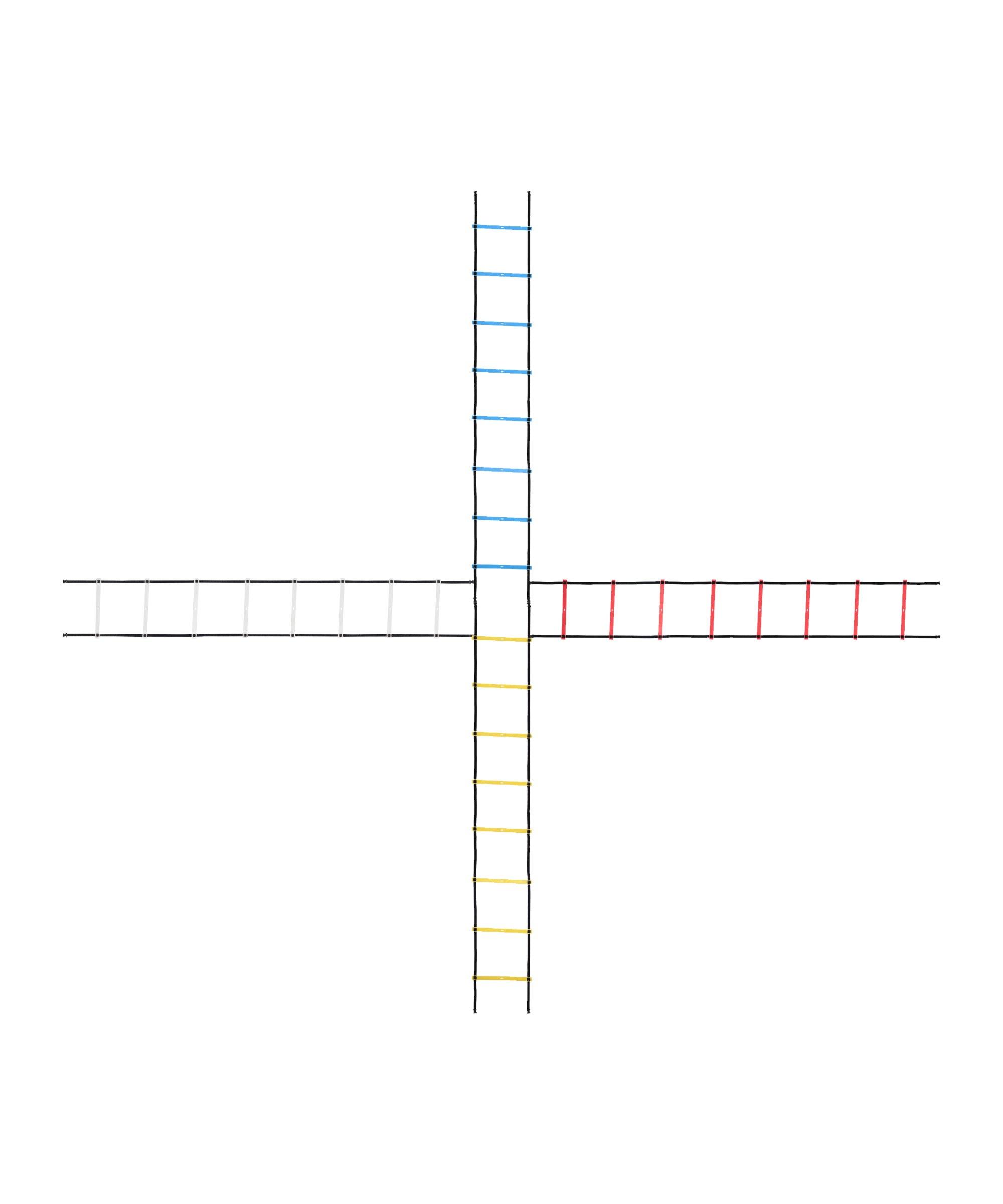 Cawila Koordinationsleiter Set 4-WAY &Tasche 4x4m - gelb