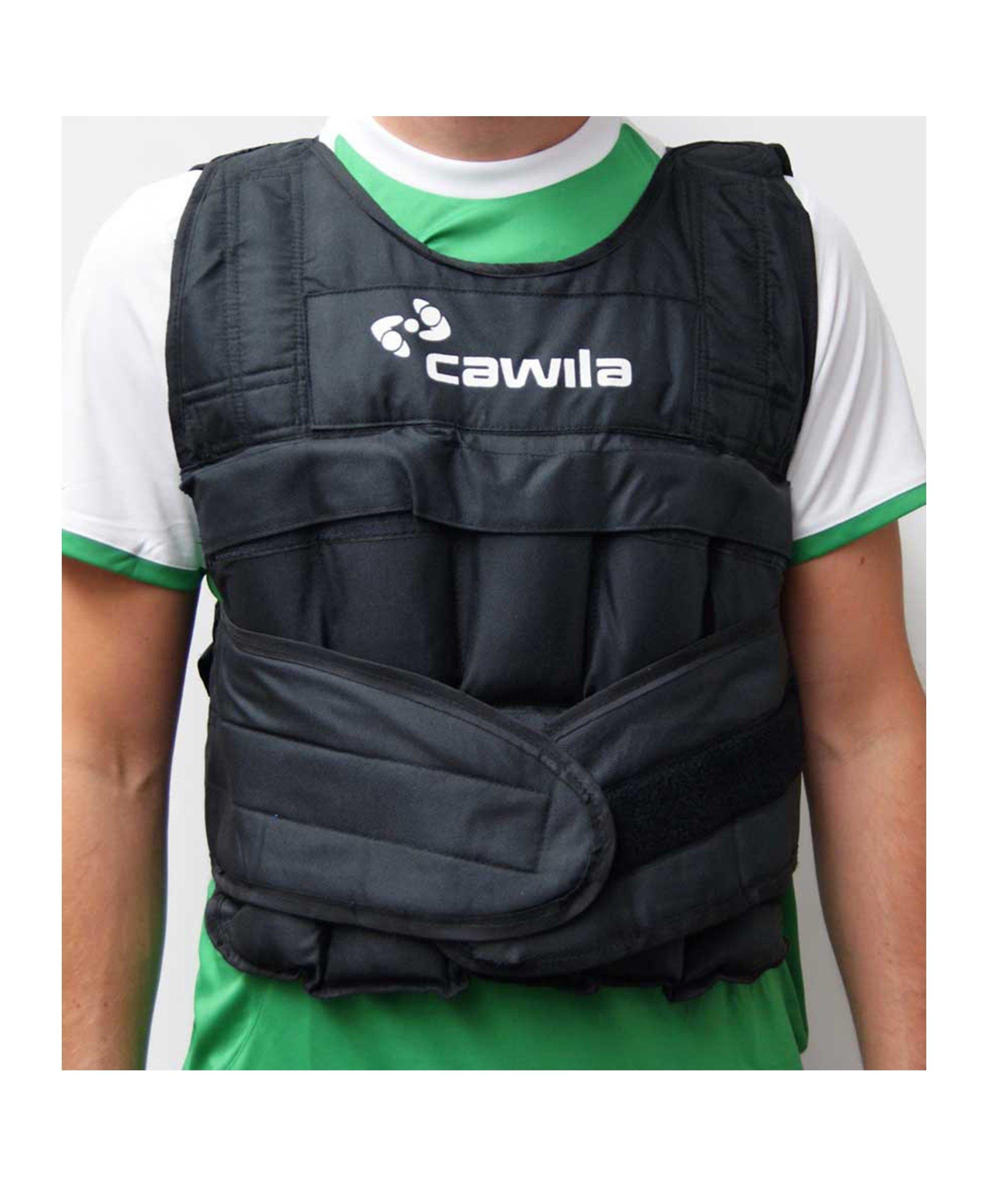 Cawila Gewichtsweste 10 Kg Schwarz - schwarz
