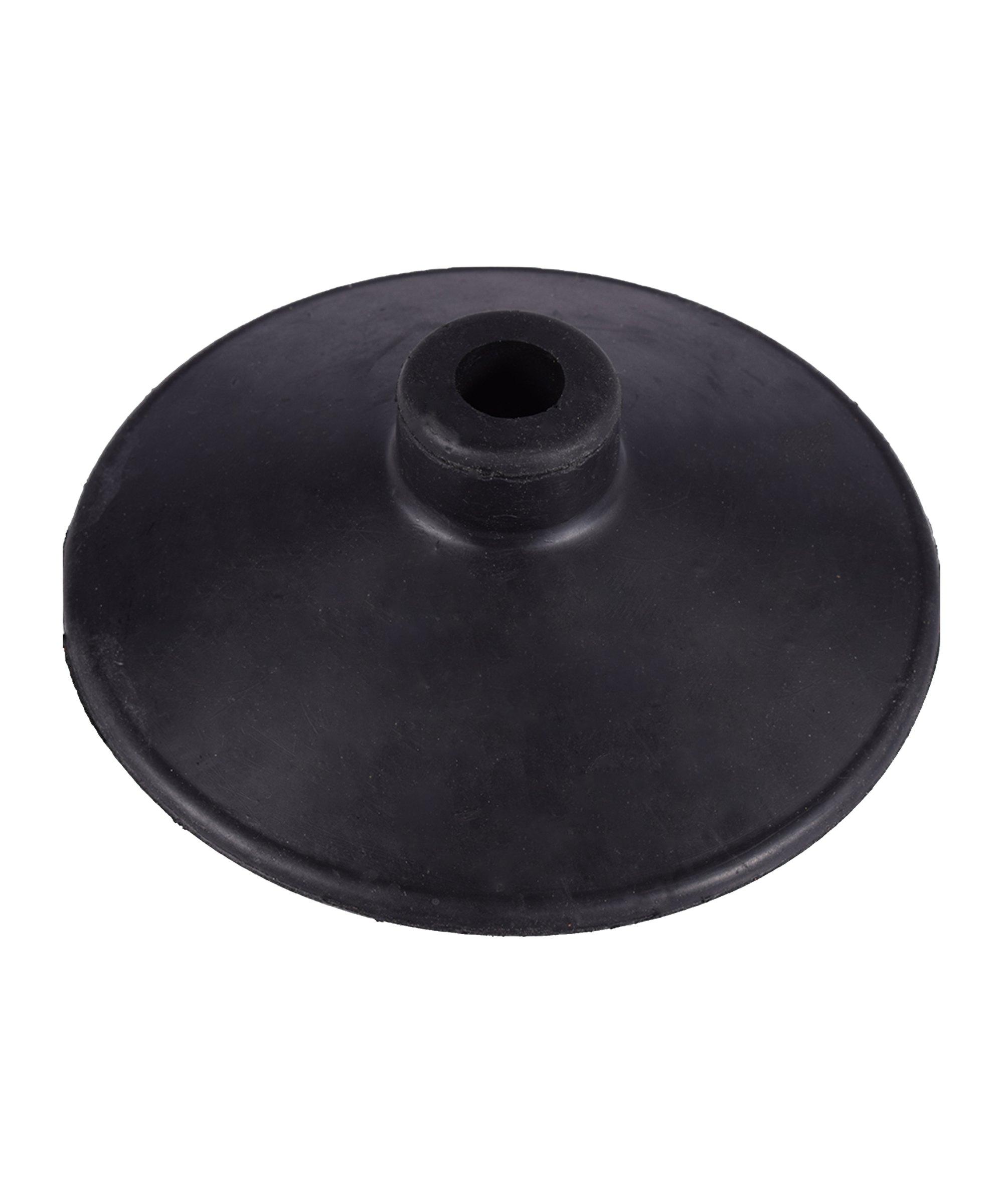 Cawila Tellerfuss für Stangen mit d25mm Schwarz - schwarz