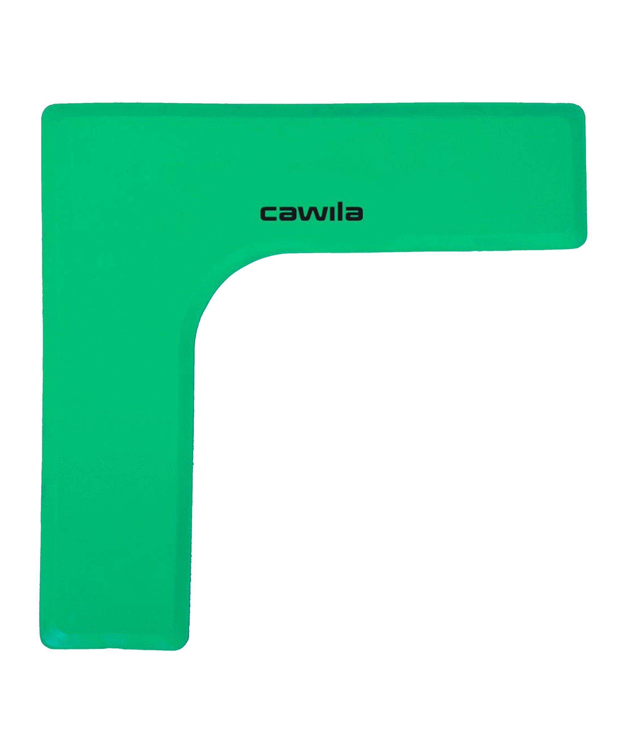 Cawila Marker-System Ecke 27 x 27 x 75cm Grün - gruen