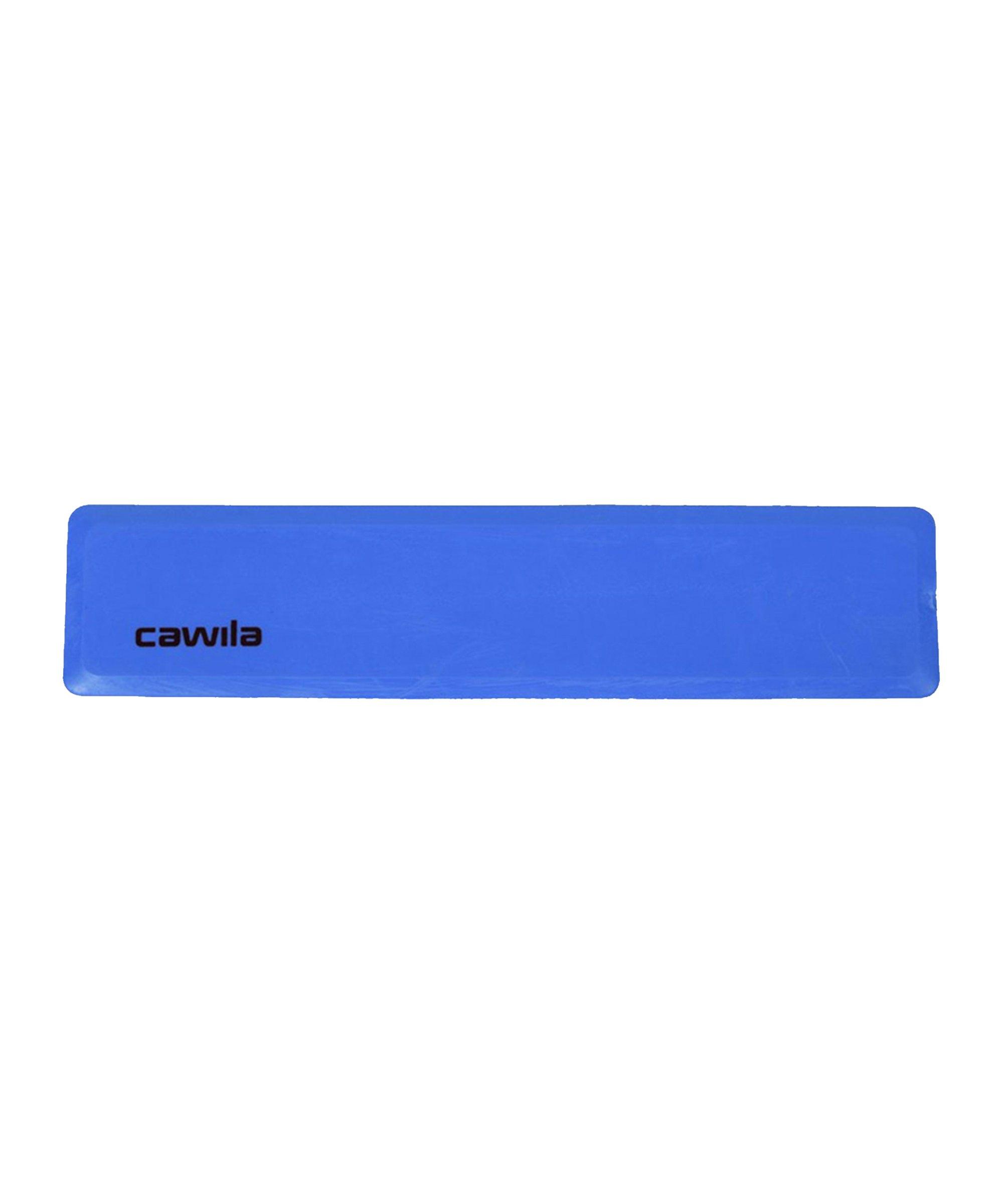 Cawila Marker-System Gerade 34 x 75cm Blau - blau