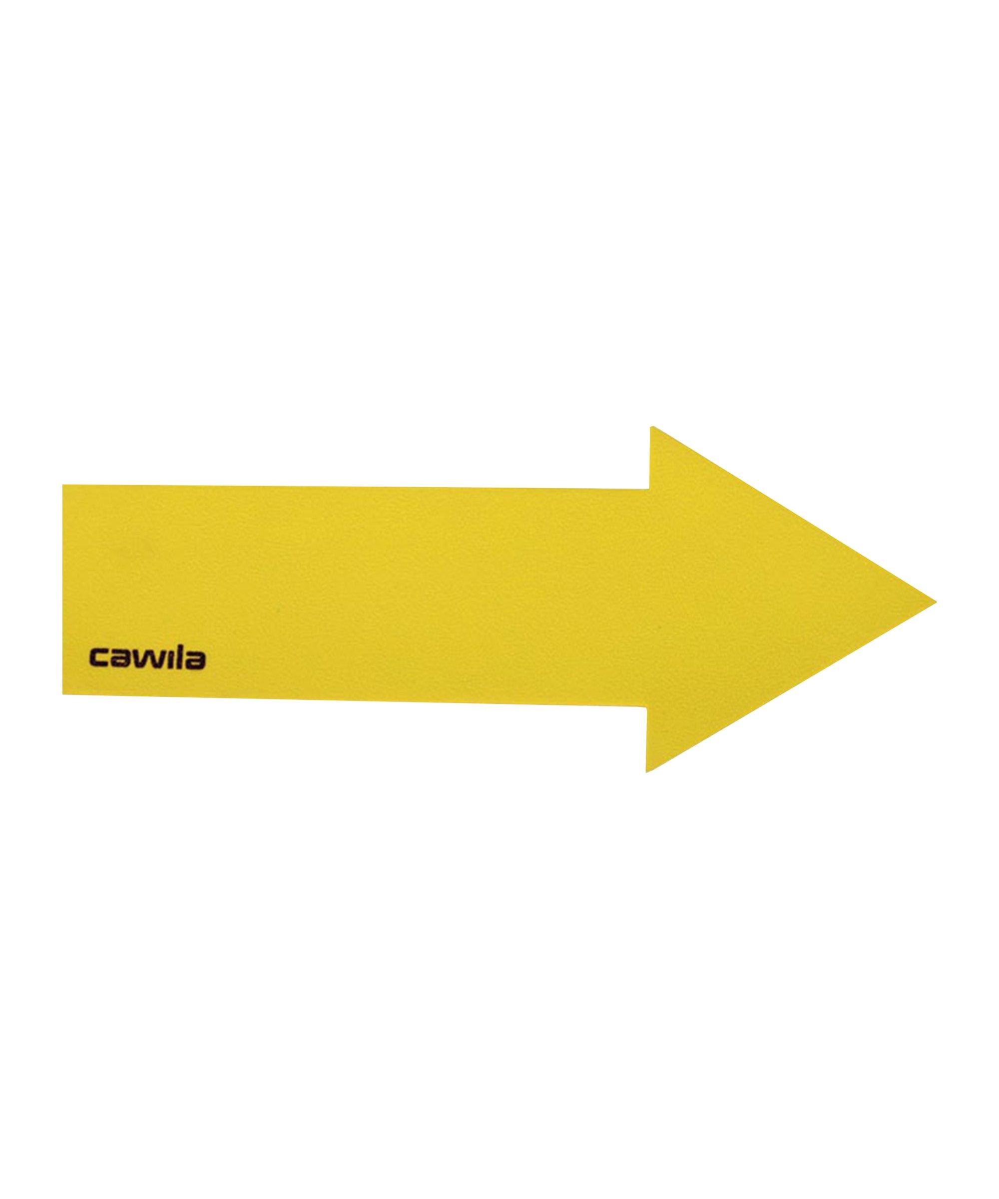 Cawila Marker-System Pfeil 36 x 9cm Gelb - gelb