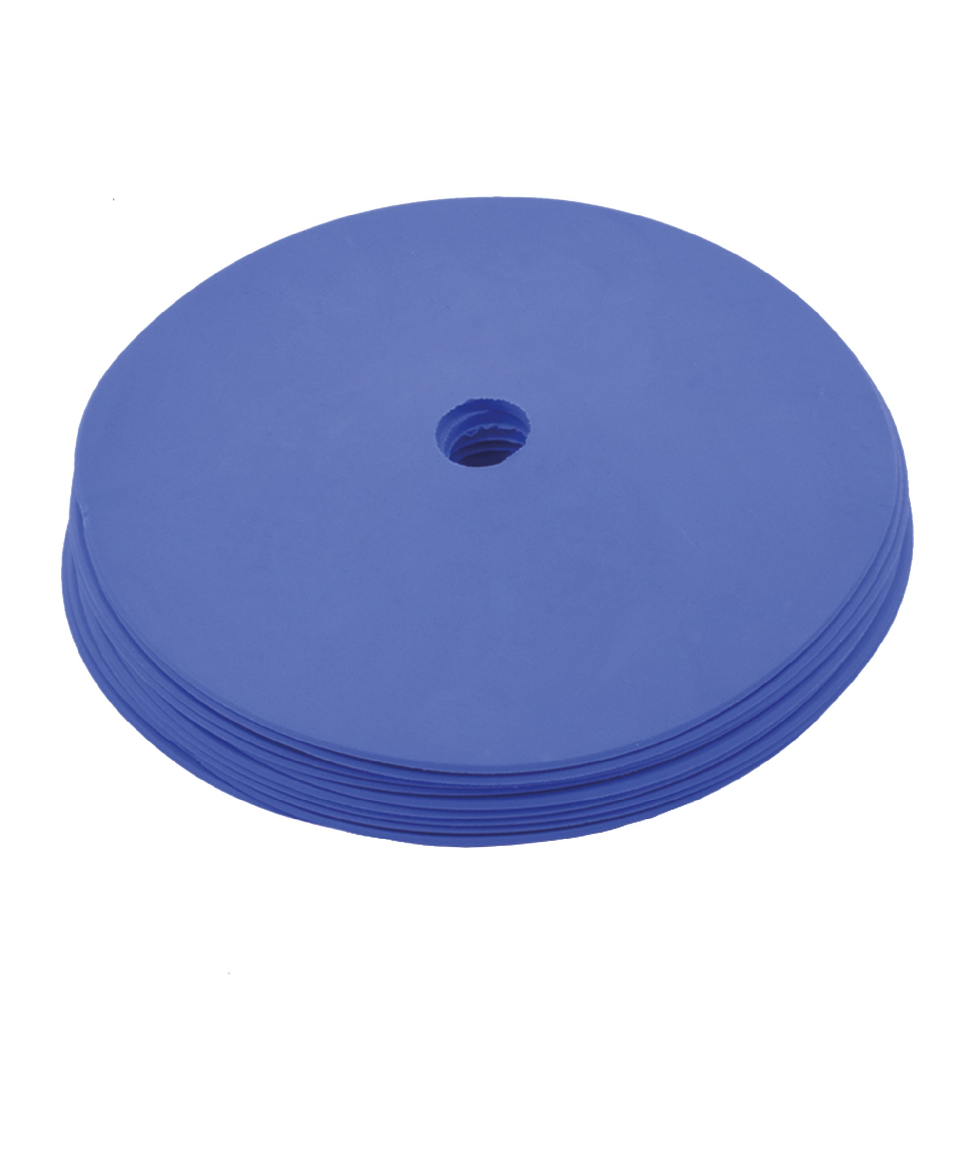 Cawila PRO TRAINING Floormark 10er Set d15mm Blau - blau