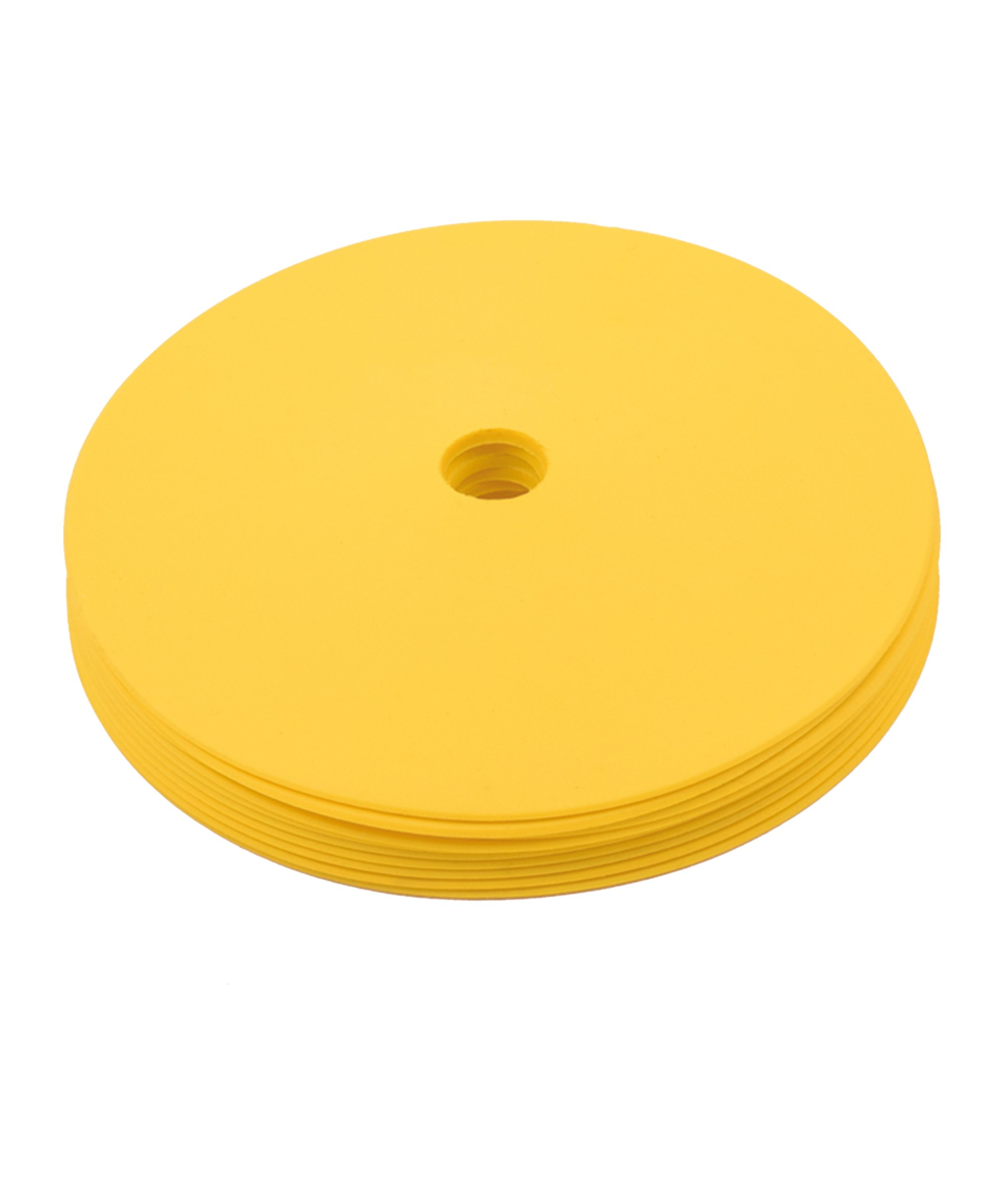 Cawila PRO TRAINING Floormark 10er Set d15mm Gelb - gelb