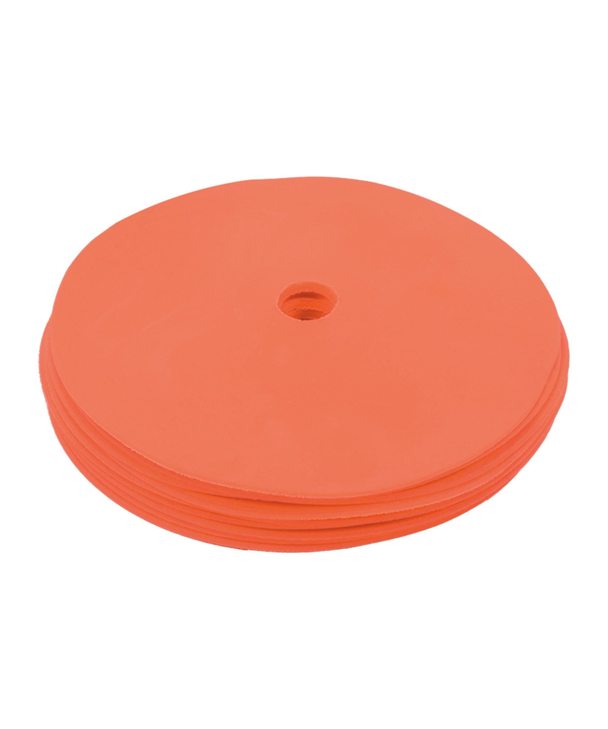 Cawila PRO TRAINING Floormark 10er Set d15mm - orange