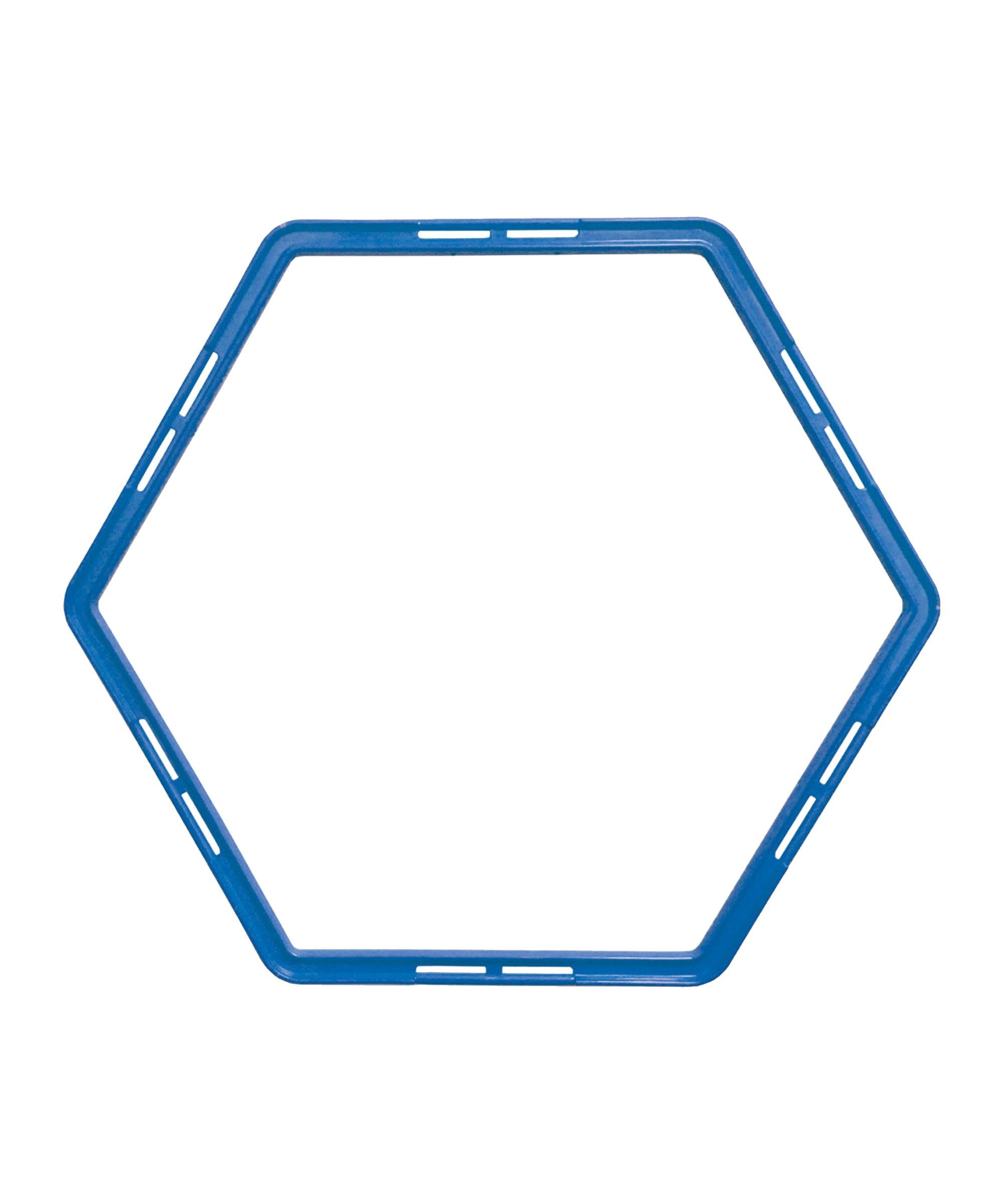 Cawila PRO TRAINING Hexa-Hoops Set d49mm Blau - blau