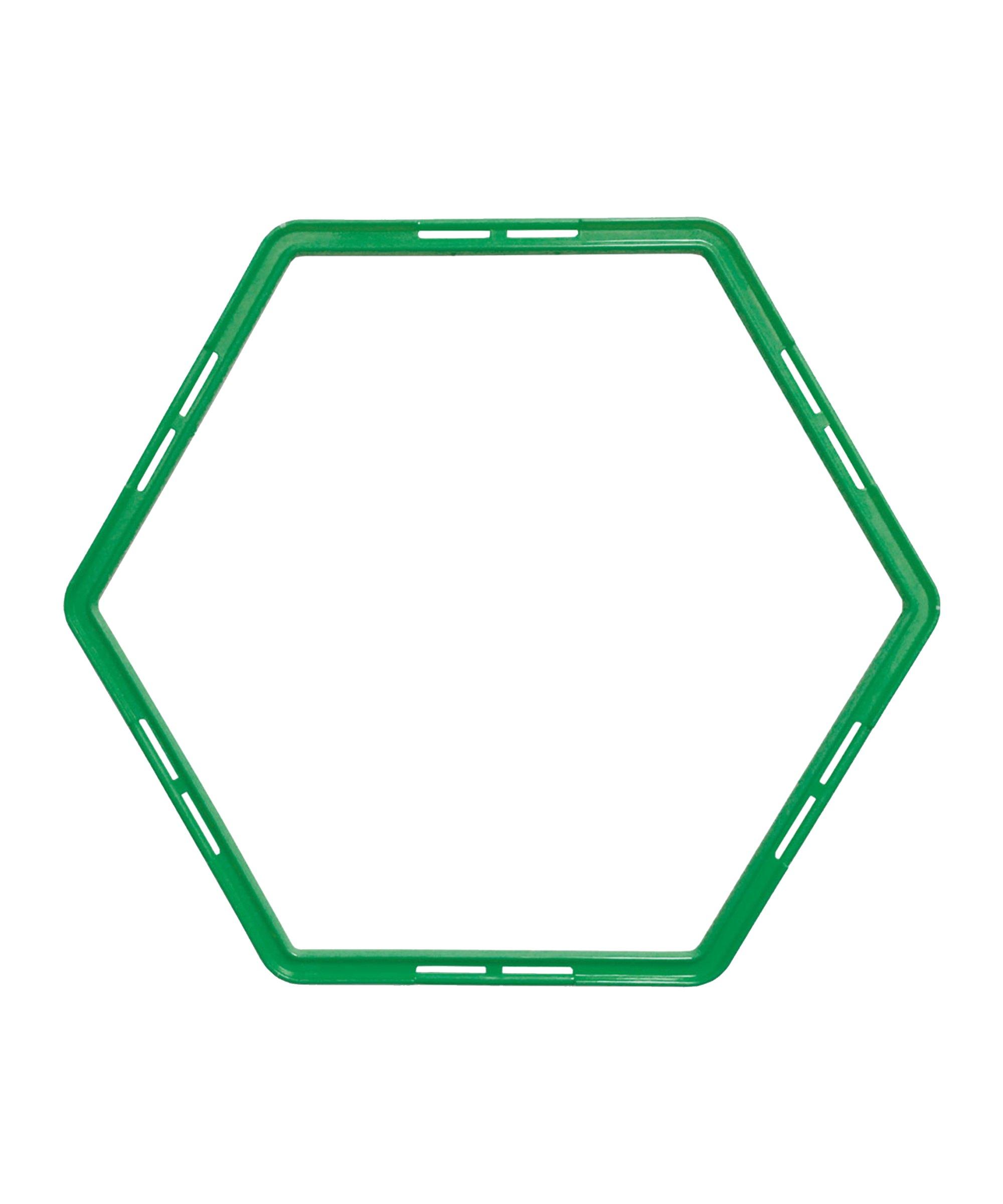 Cawila PRO TRAINING Hexa-Hoops Set d49mm Grün - gruen