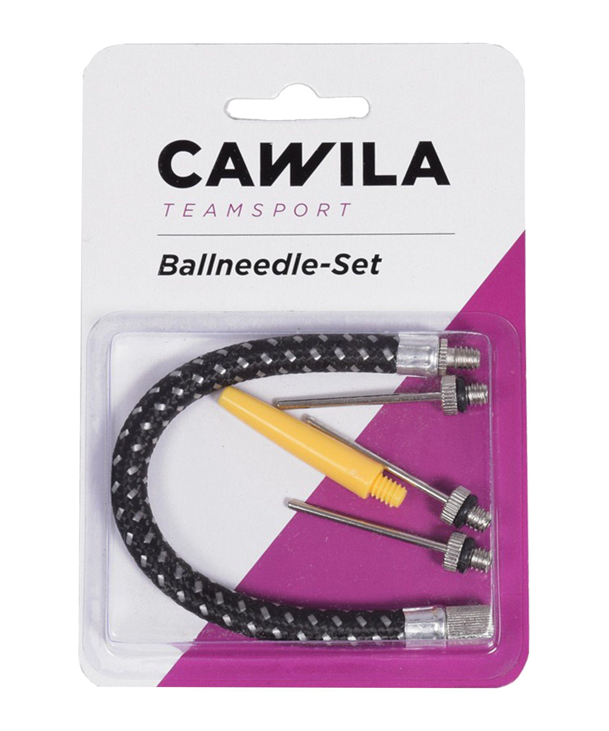 Cawila Hohlnadelset mit Schlauchadapter - silber